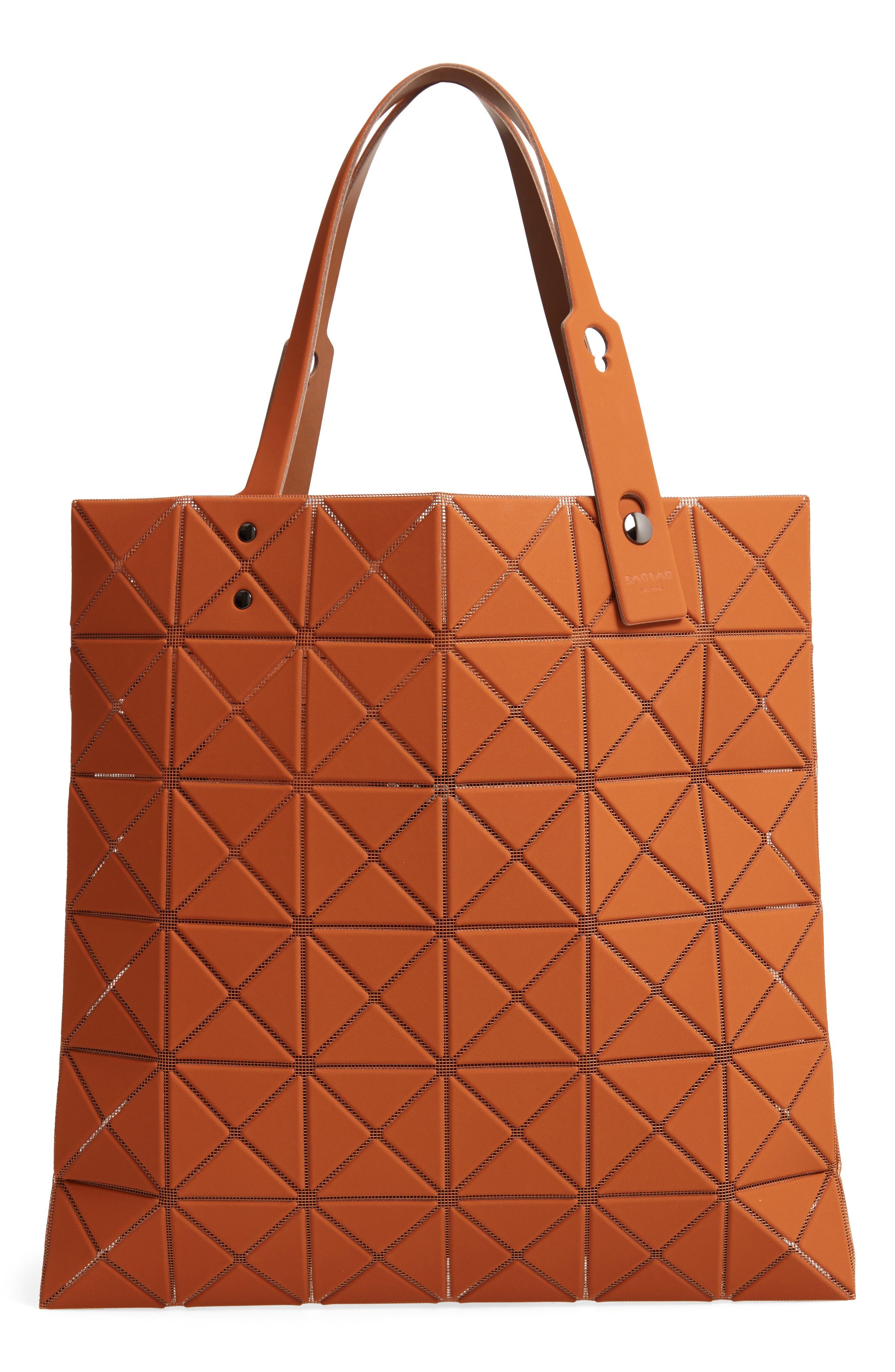 Lucent Prism Tote Bag,                         Main,                         color, CAMEL