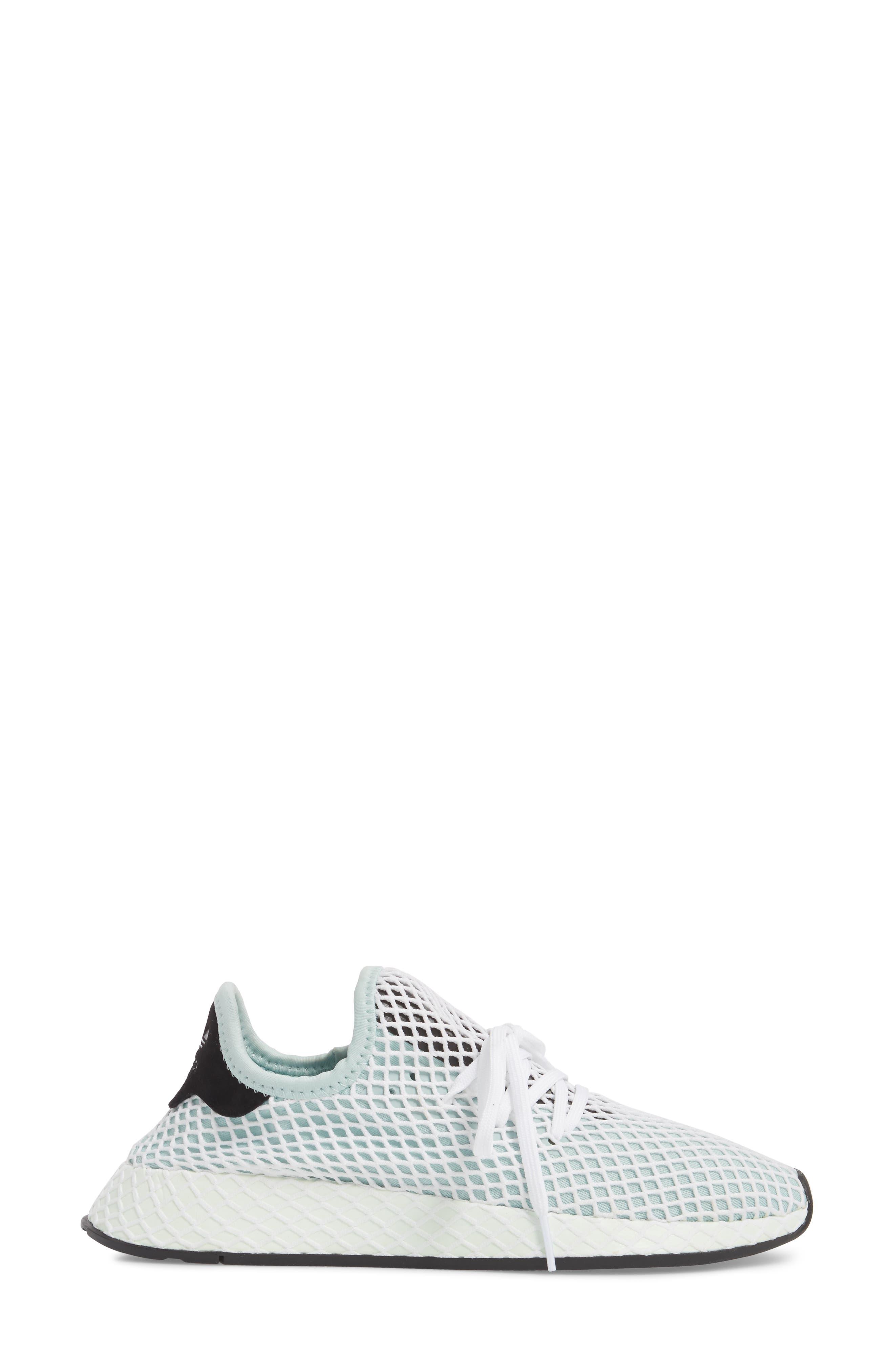 Deerupt Runner Sneaker,                             Alternate thumbnail 3, color,                             ASH GREEN/ ASH GREEN