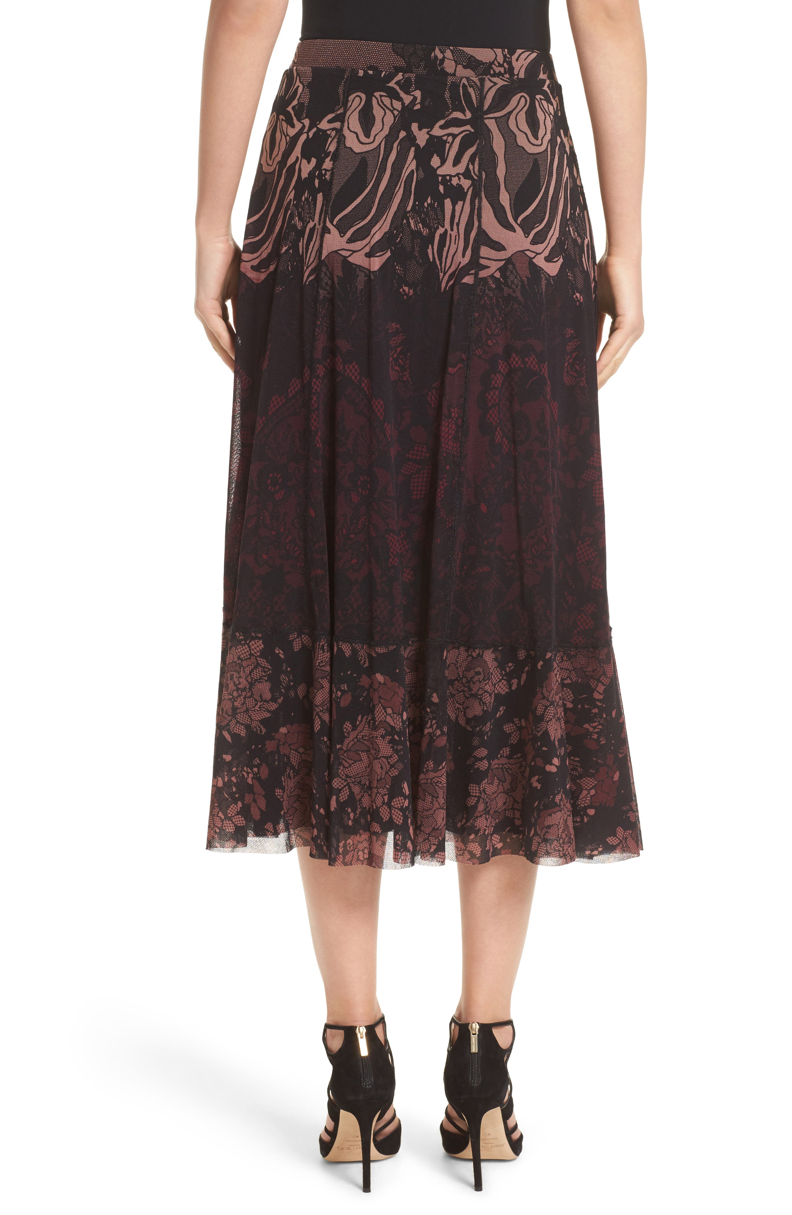 Tulle Midi Skirt,                             Alternate thumbnail 2, color,                             930
