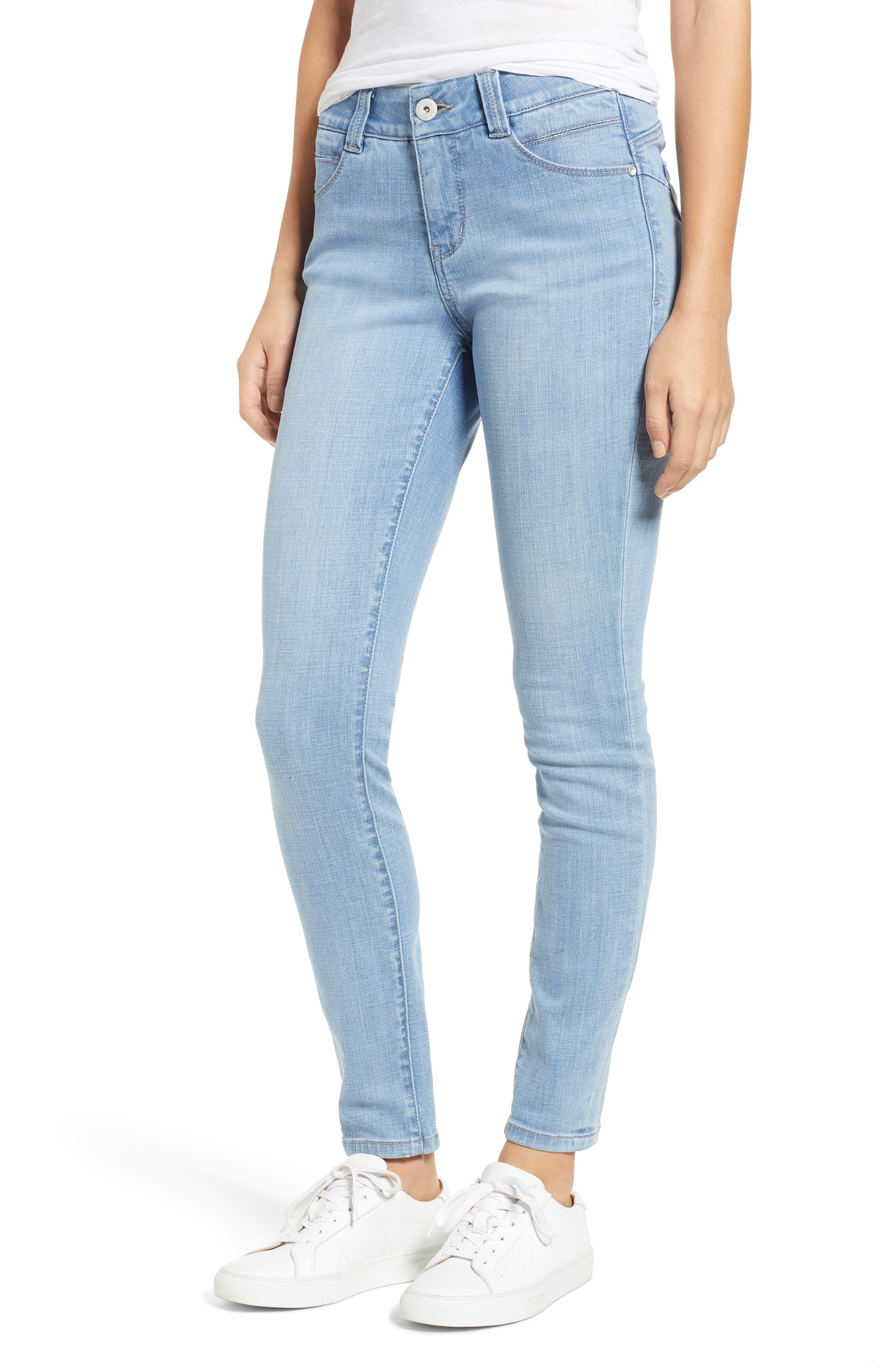 Cecilia Skinny Jeans in Island Blue
