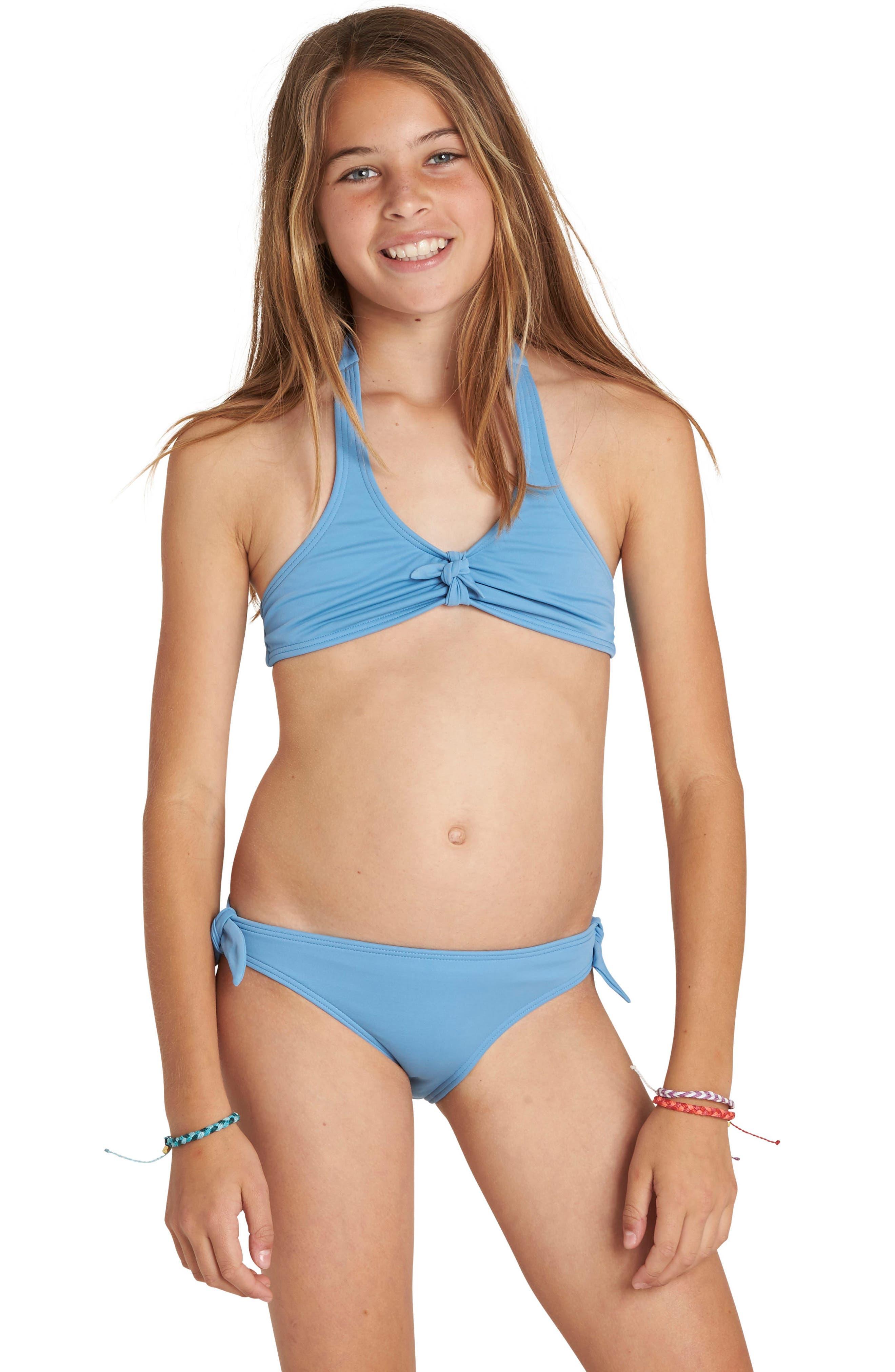 Sol Searcher Two-Piece Halter Swimsuit,                         Main,                         color, 434