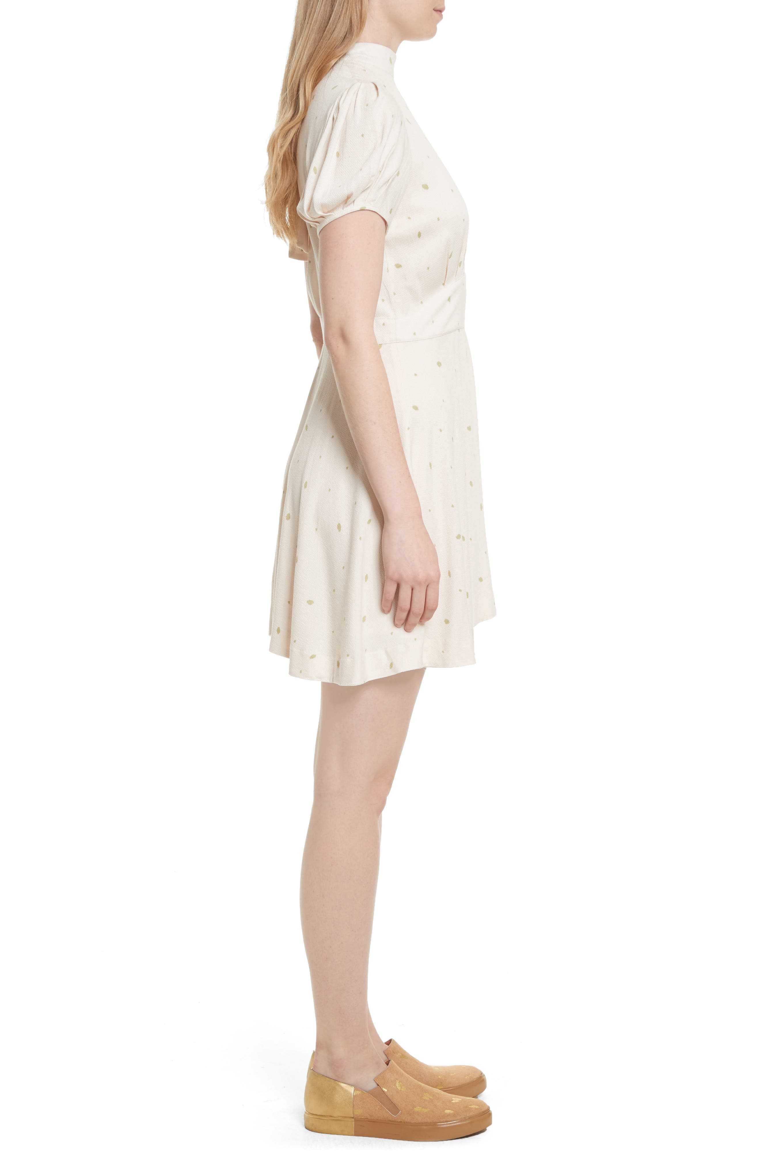 Abbie Fit & Flare Dress,                             Alternate thumbnail 3, color,                             903