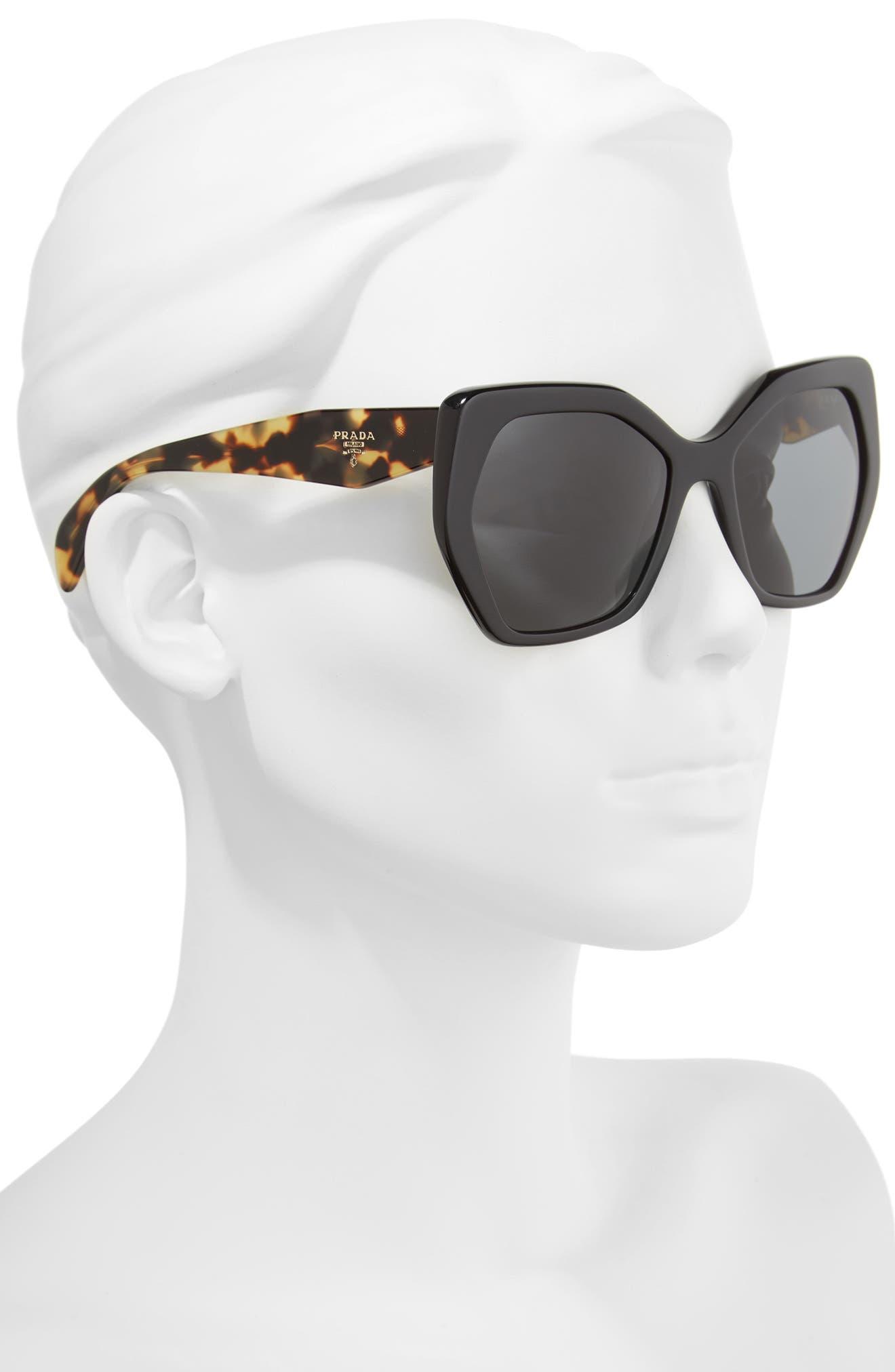 Heritage 56mm Sunglasses,                             Alternate thumbnail 2, color,                             002