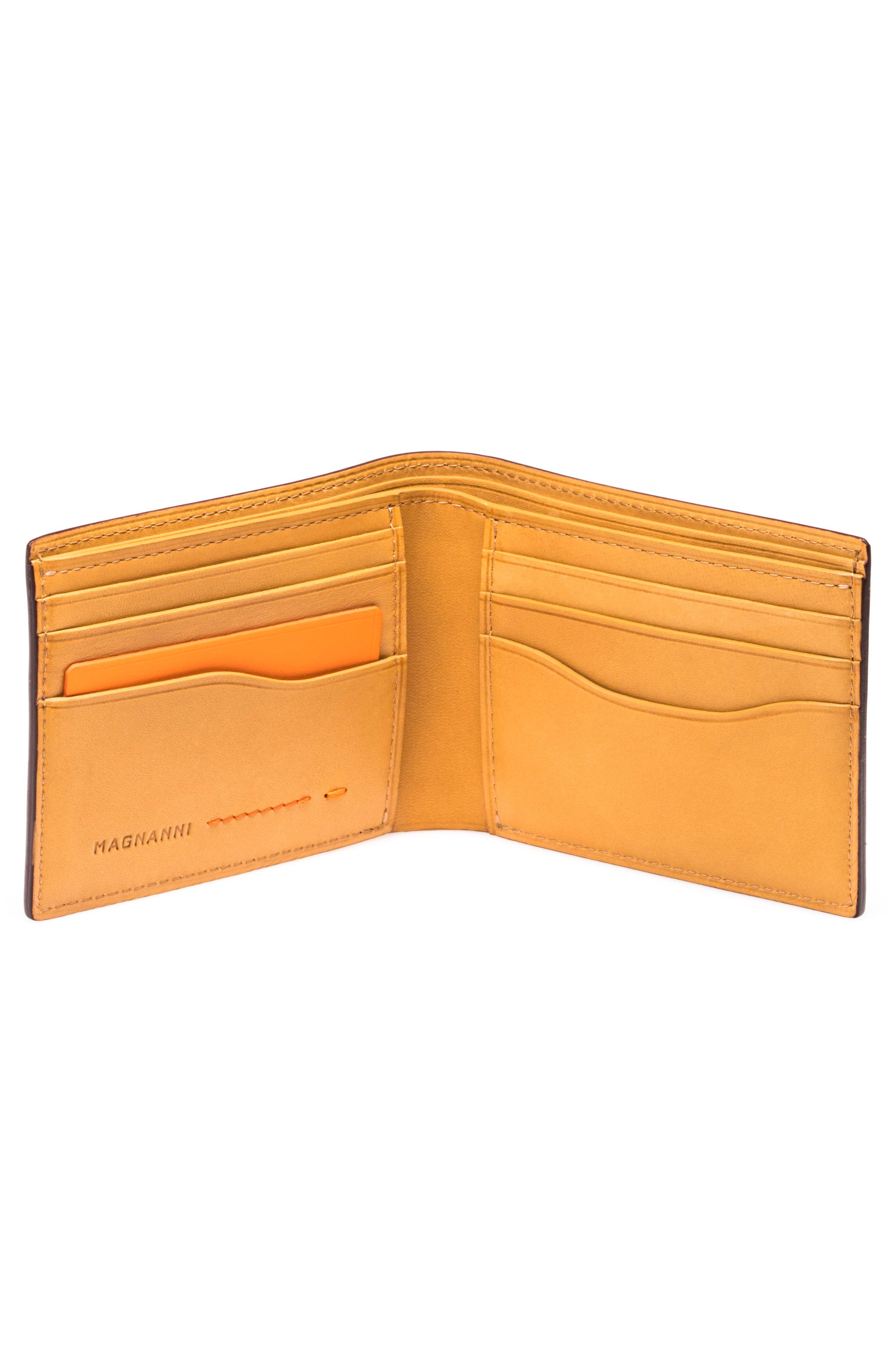 Leather Bifold,                             Alternate thumbnail 2, color,                             203