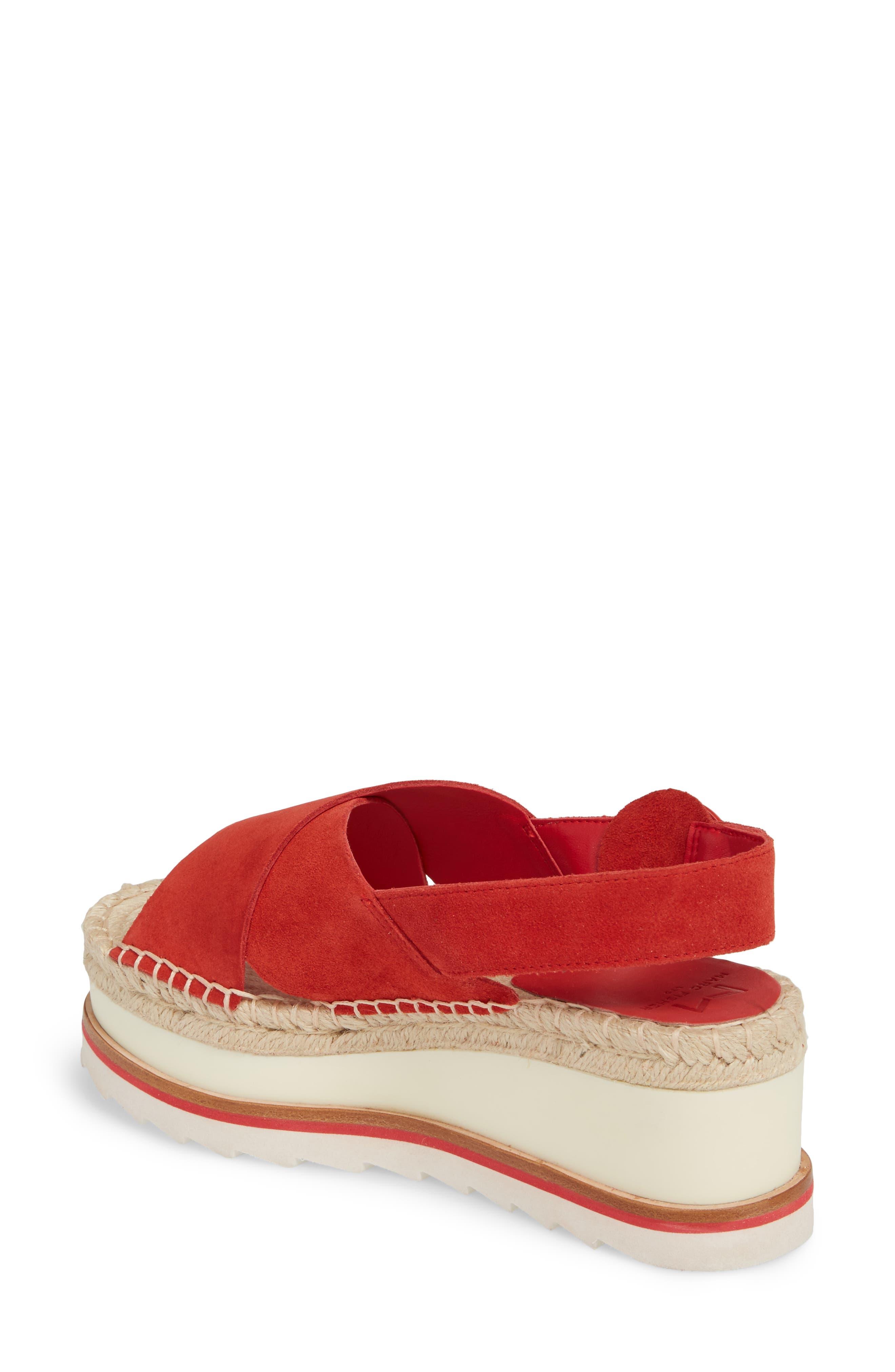 Glenna Platform Slingback Sandal,                             Alternate thumbnail 8, color,
