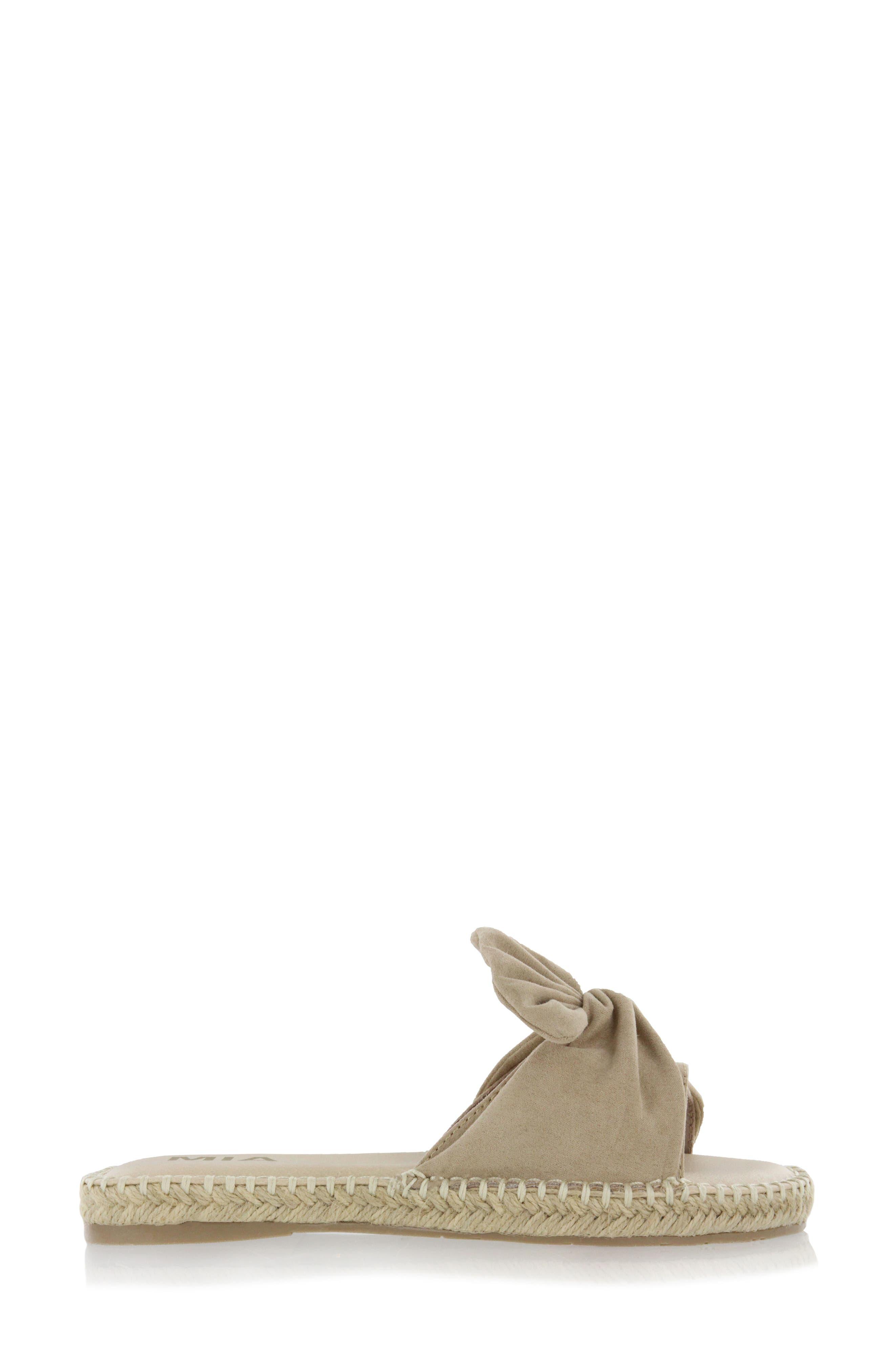 Kensi Knotted Slide Sandal,                             Alternate thumbnail 10, color,