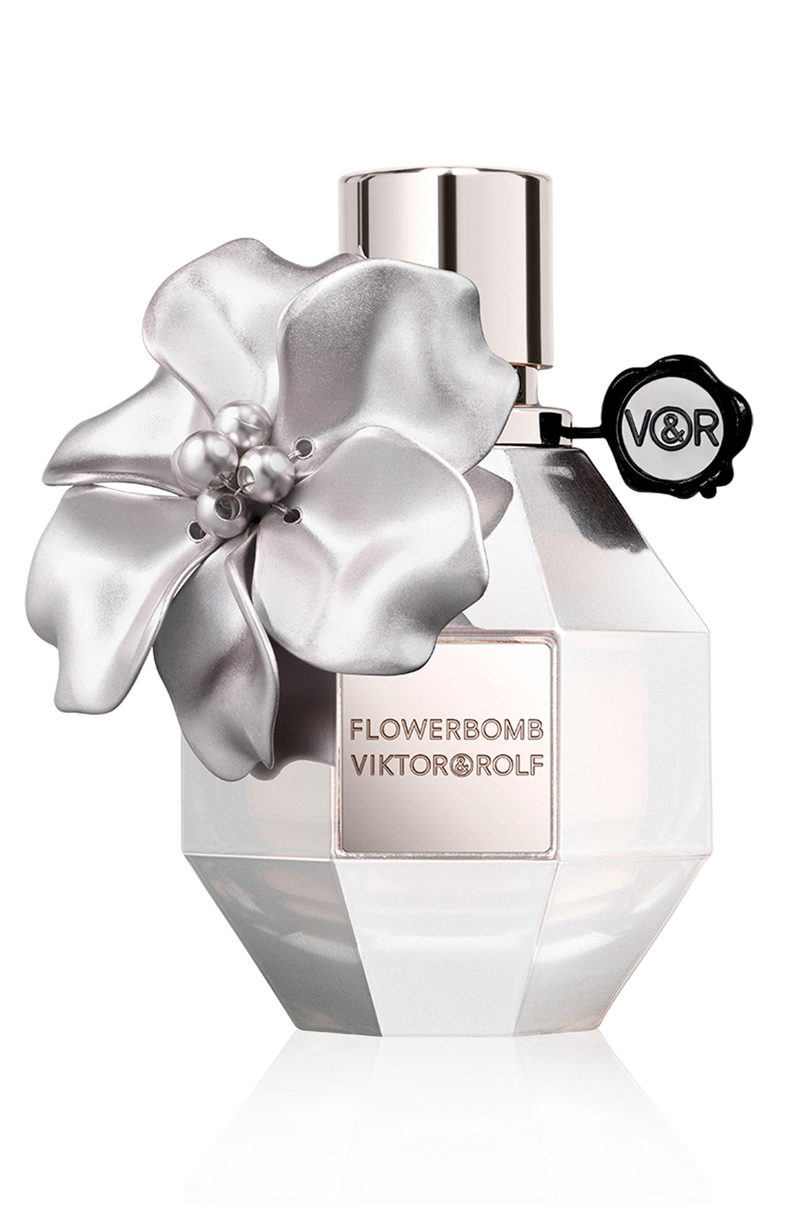 Flowerbomb Silver Eau de Parfum,                             Main thumbnail 1, color,