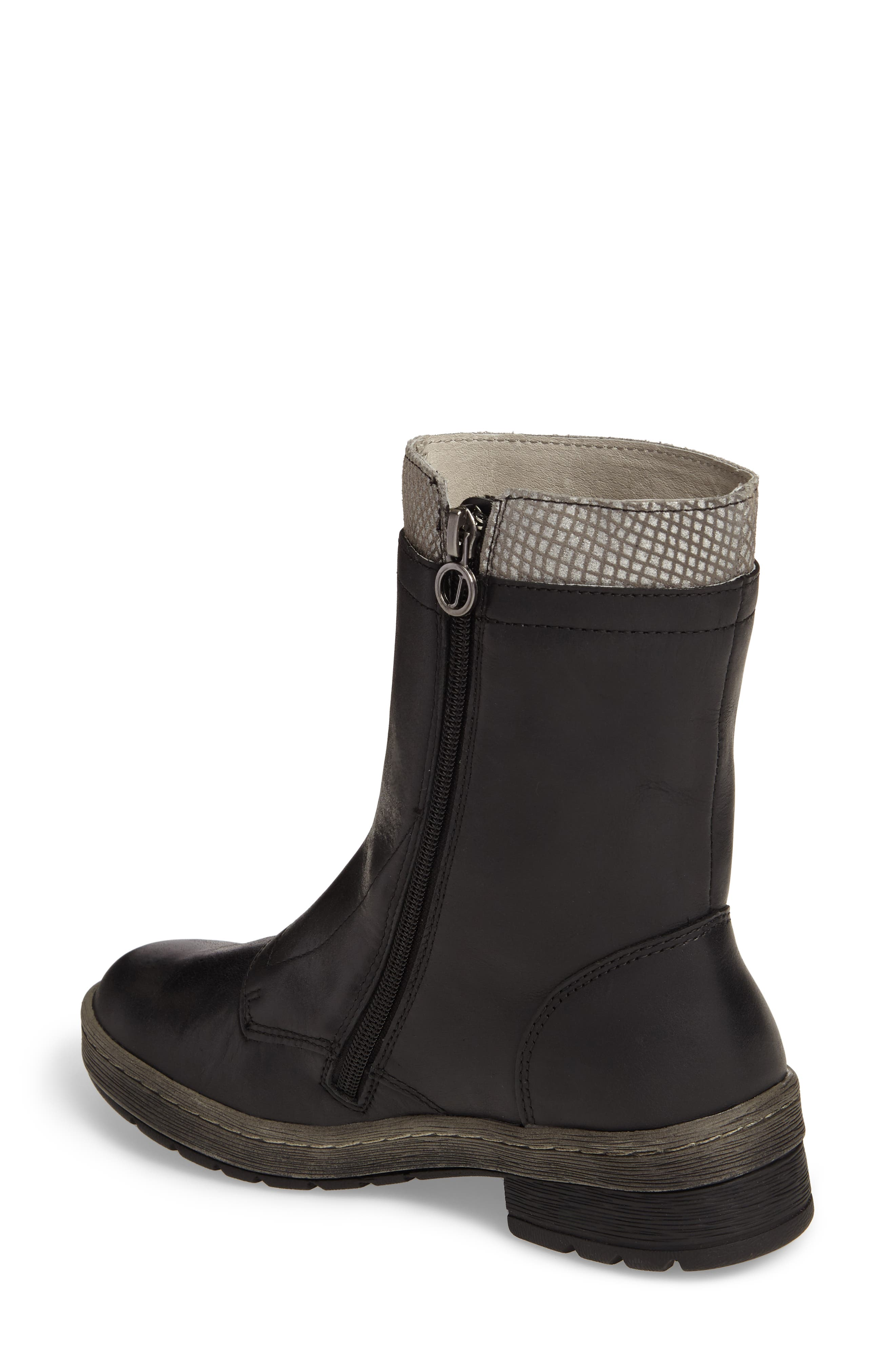 Chestnut Lace-Up Water Resistant Boot,                             Alternate thumbnail 2, color,                             001