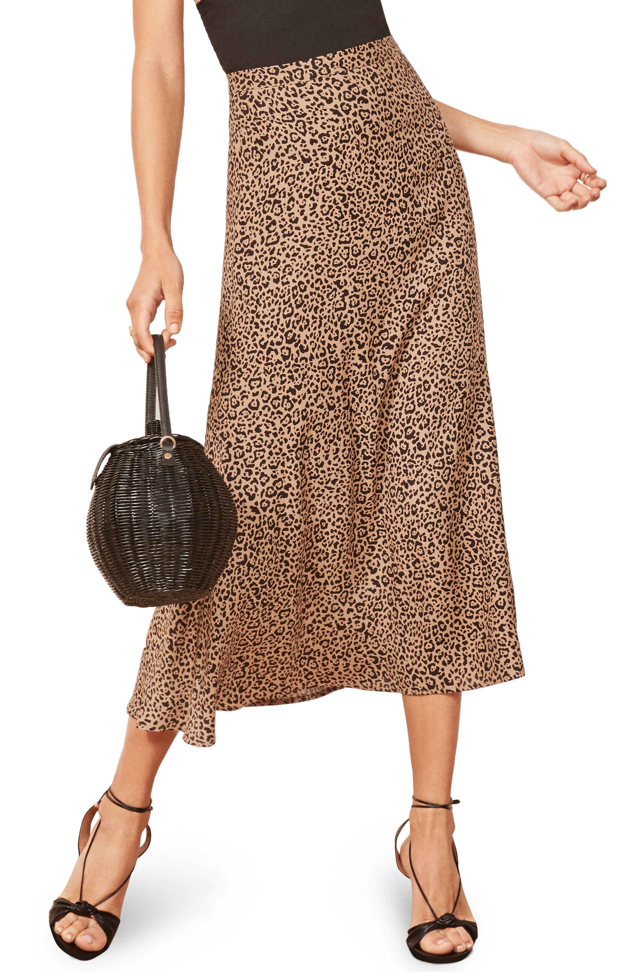 Bea Skirt,                         Main,                         color, BENGAL