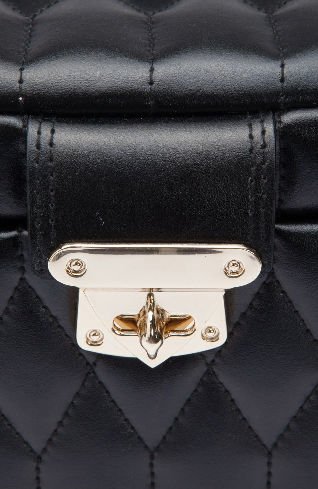 'Caroline' Jewelry Case,                             Alternate thumbnail 4, color,                             001
