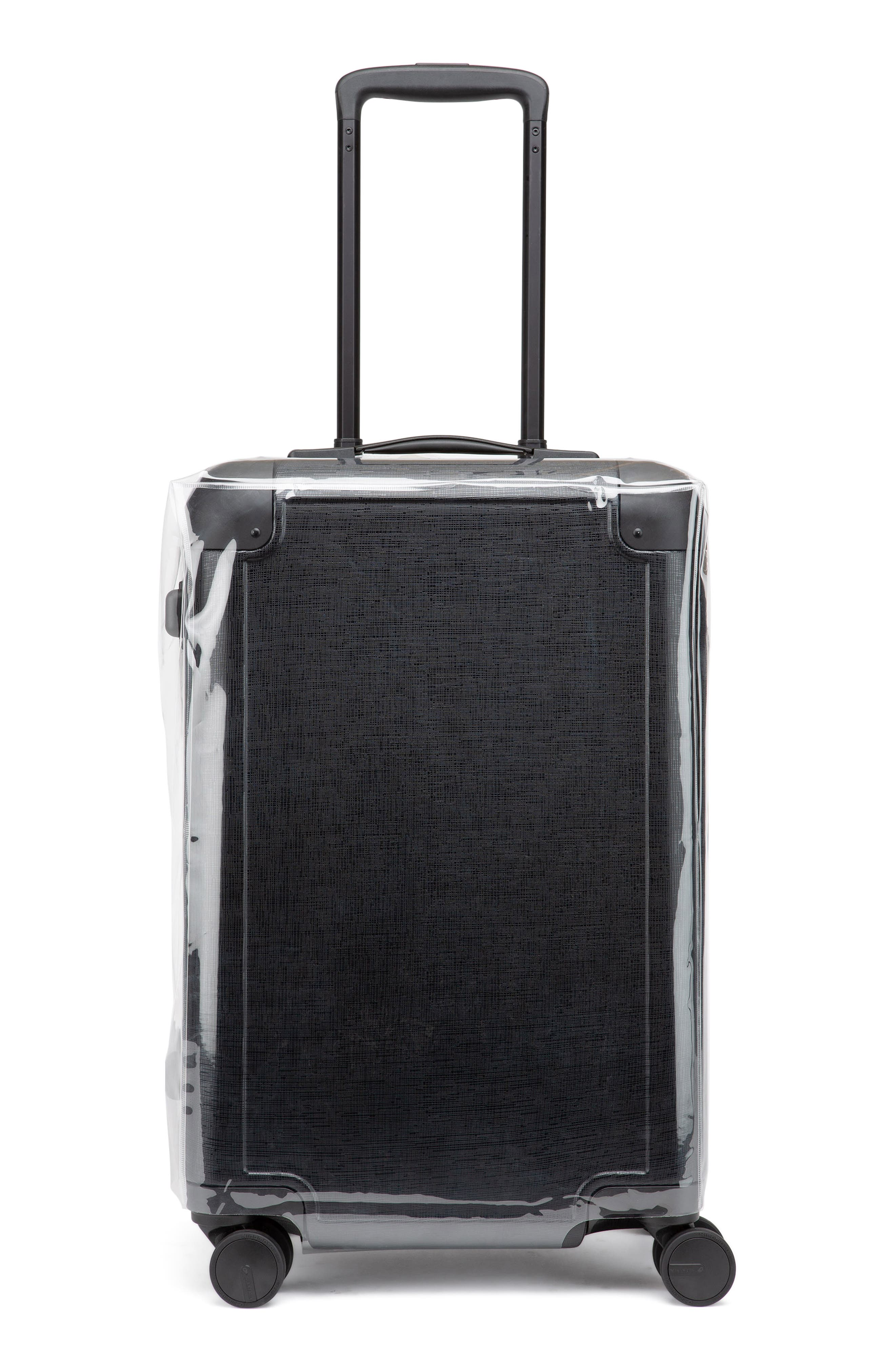 x Jen Atkin 22-Inch Carry-On Suitcase,                             Main thumbnail 1, color,                             BLACK