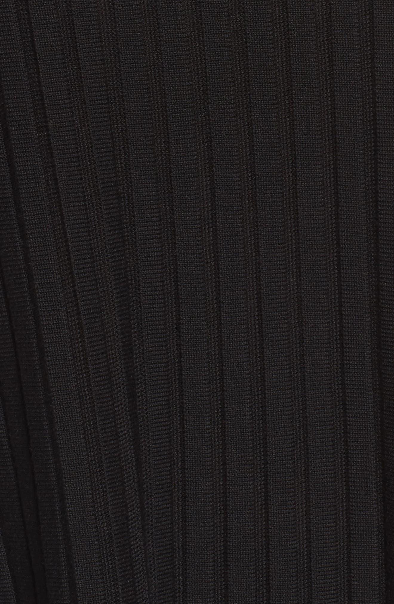 Ribbed Bateau Neck Sweater,                             Alternate thumbnail 17, color,
