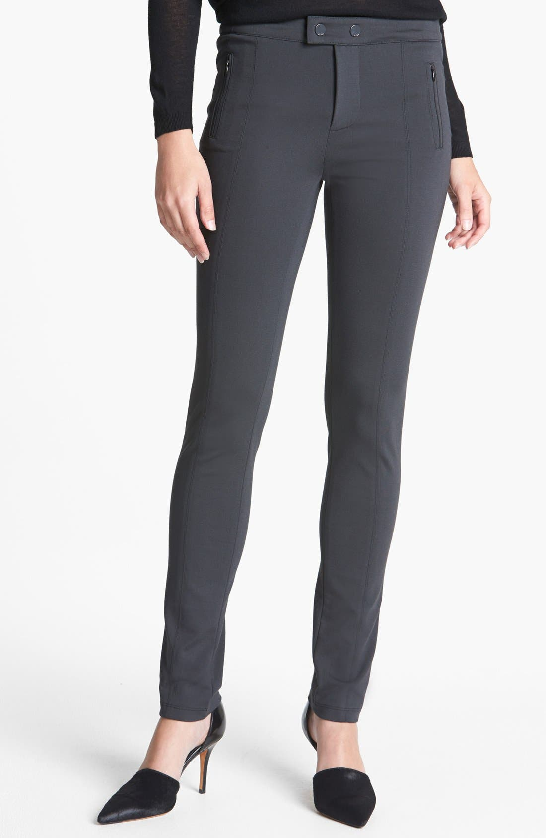 VINCE 'Ski' Ponte Pants, Main, color, 021