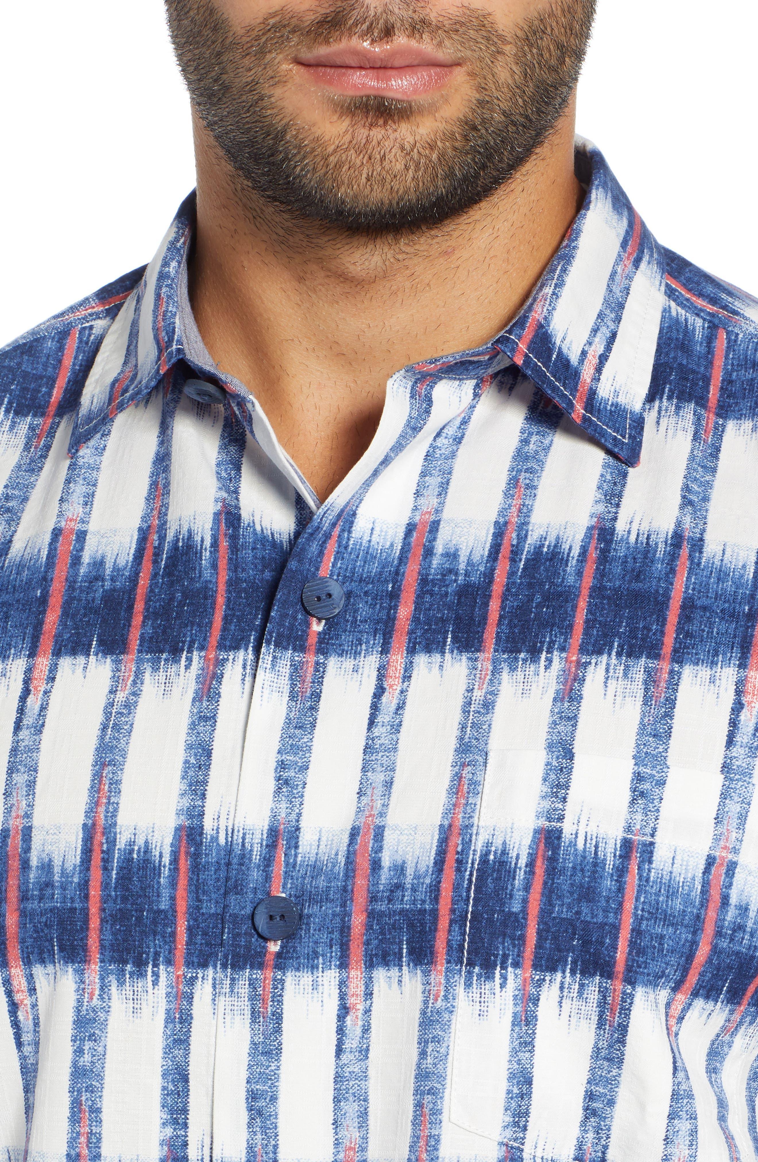 Fresco Falls Regular Fit Sport Shirt,                             Alternate thumbnail 2, color,                             DOCKSIDE BLUE