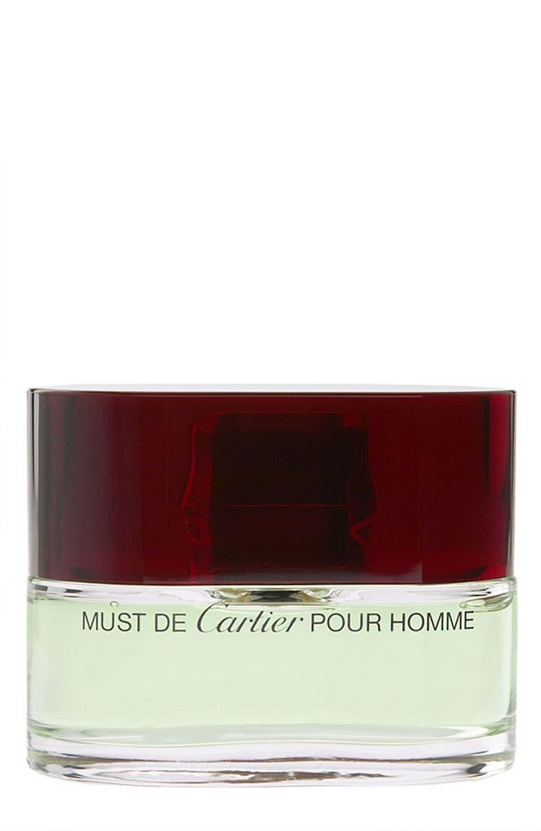 04d673d5b20 Cartier  Must de Cartier Pour Homme  Eau de Toilette Spray