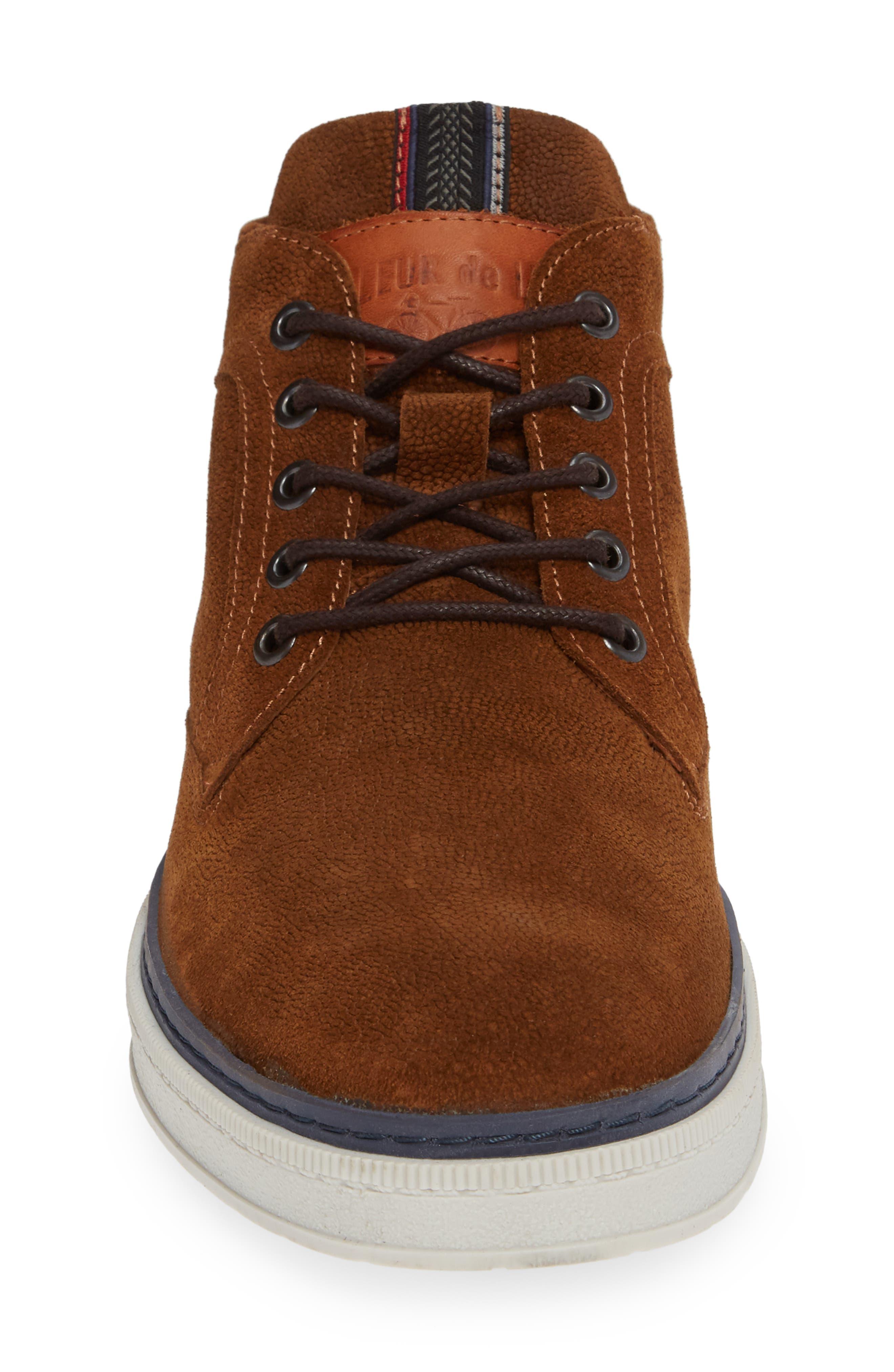 Bilbao Sneaker,                             Alternate thumbnail 4, color,                             COGNAC