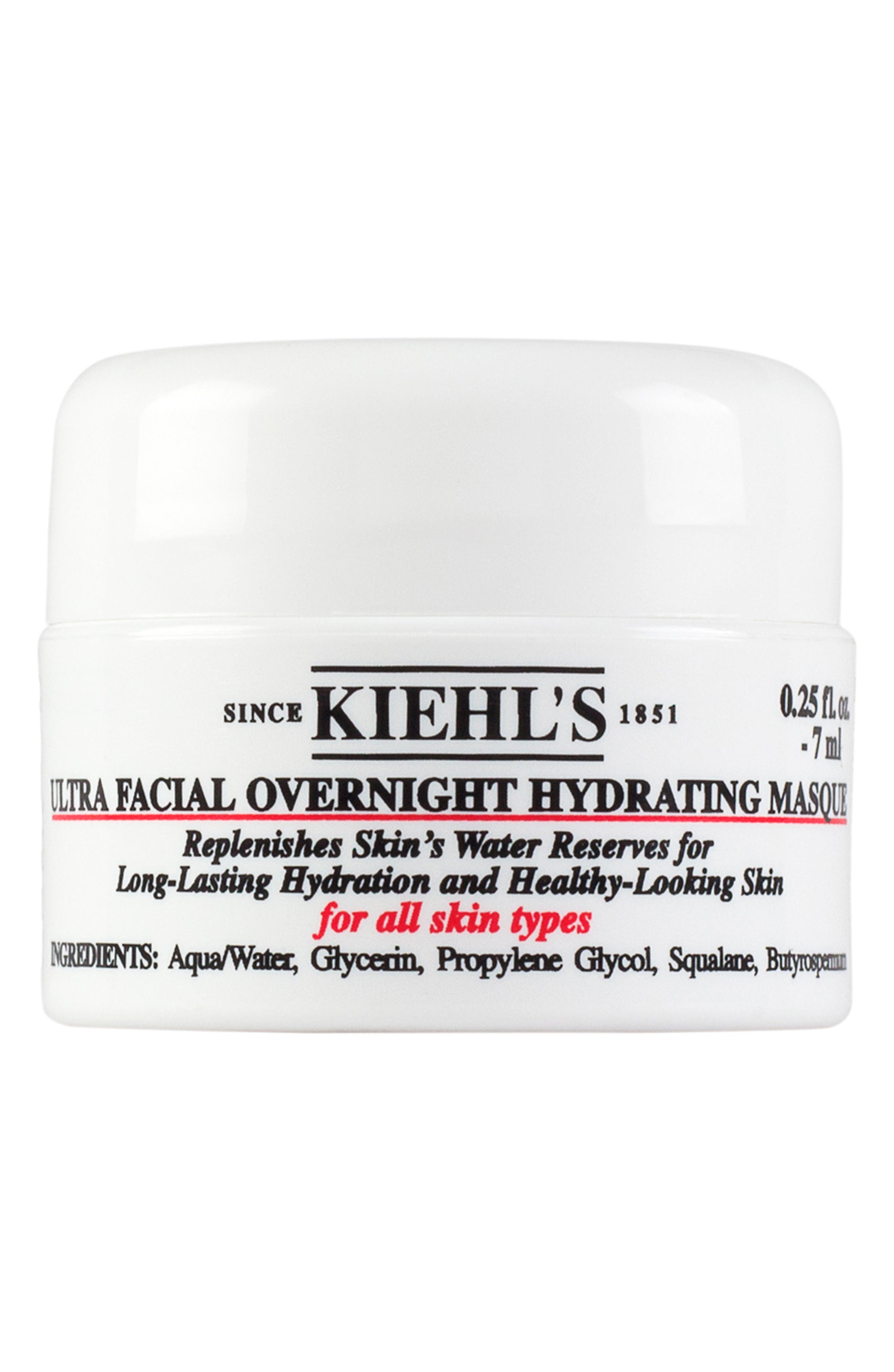 KIEHL'S SINCE 1851,                             Ultra Facial Overnight Hydrating Masque,                             Alternate thumbnail 6, color,                             NO COLOR