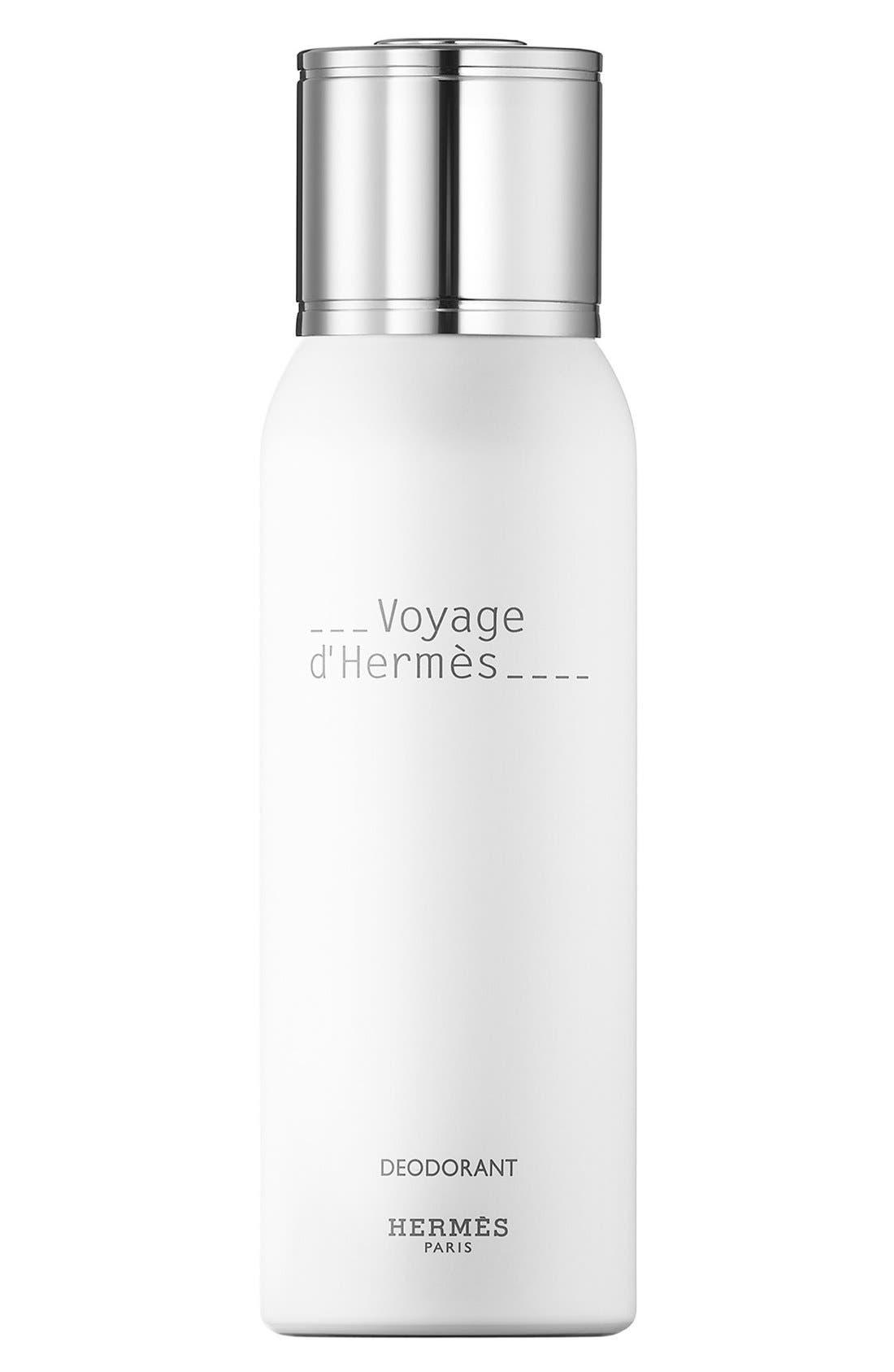 Hermès Voyage d'Hermès - Deodorant natural spray,                             Main thumbnail 1, color,                             000