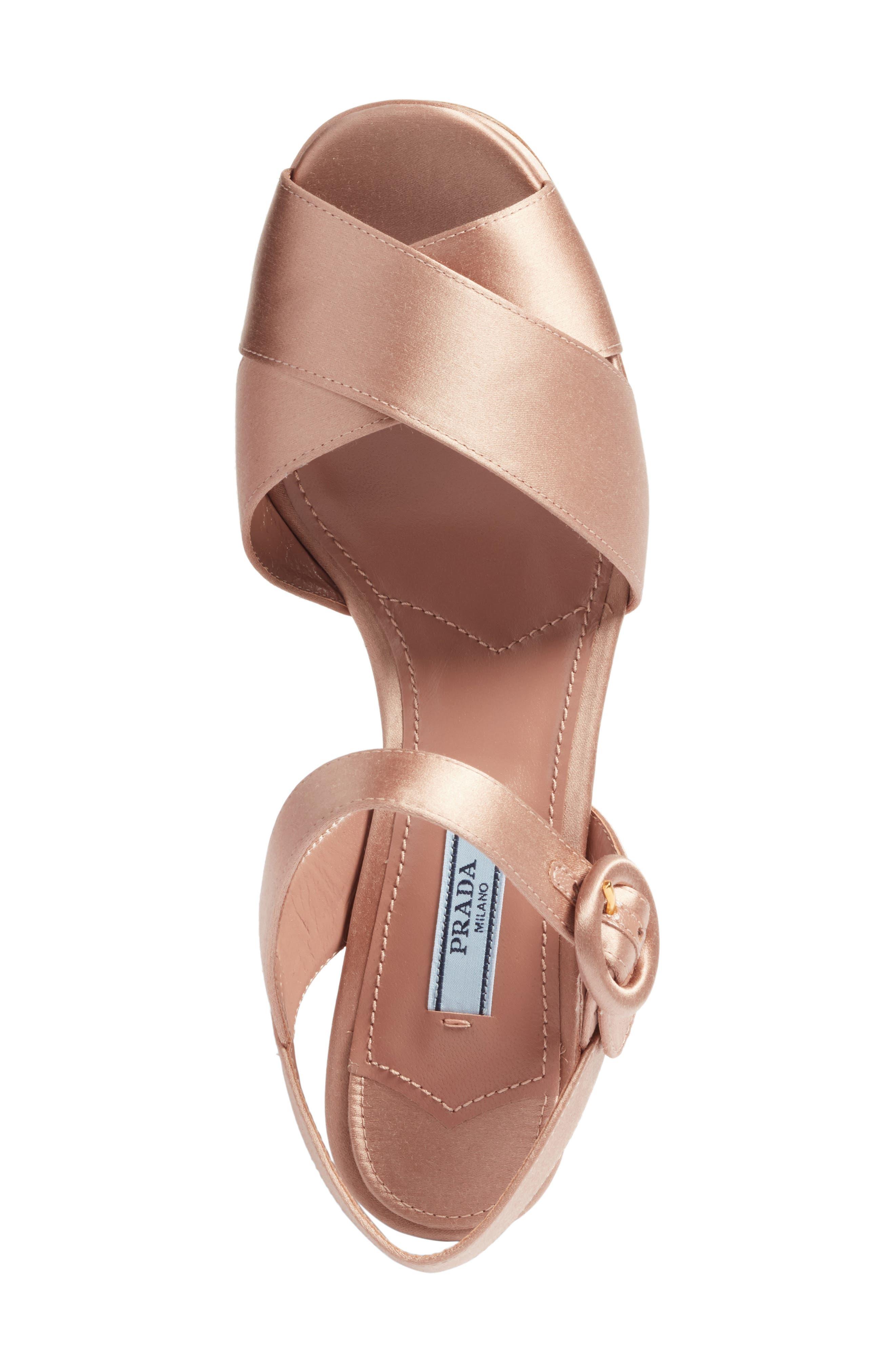 Block Heel Platform Sandal,                             Alternate thumbnail 14, color,