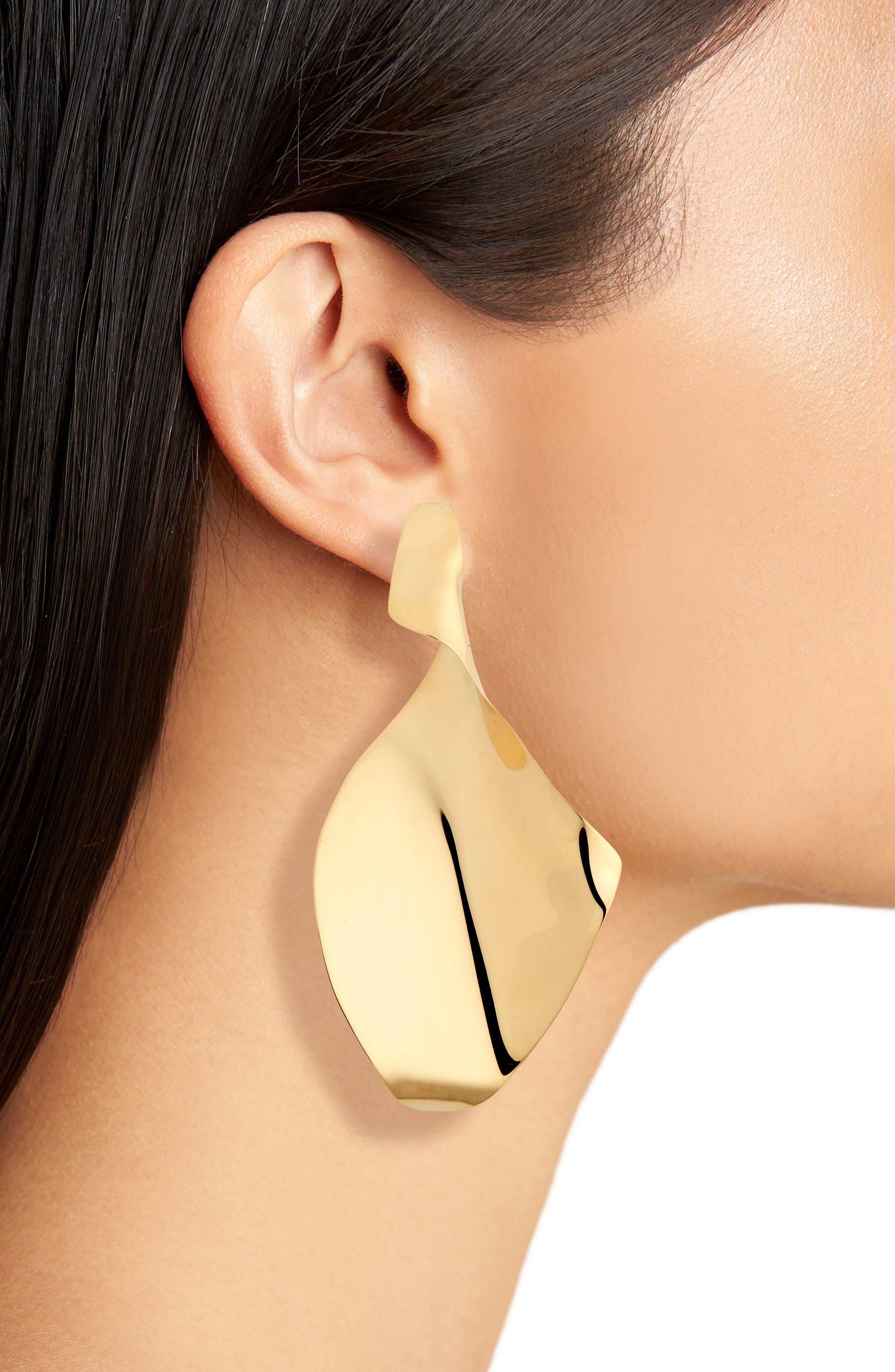 Tornade Drop Earrings,                             Alternate thumbnail 2, color,                             BRONZE