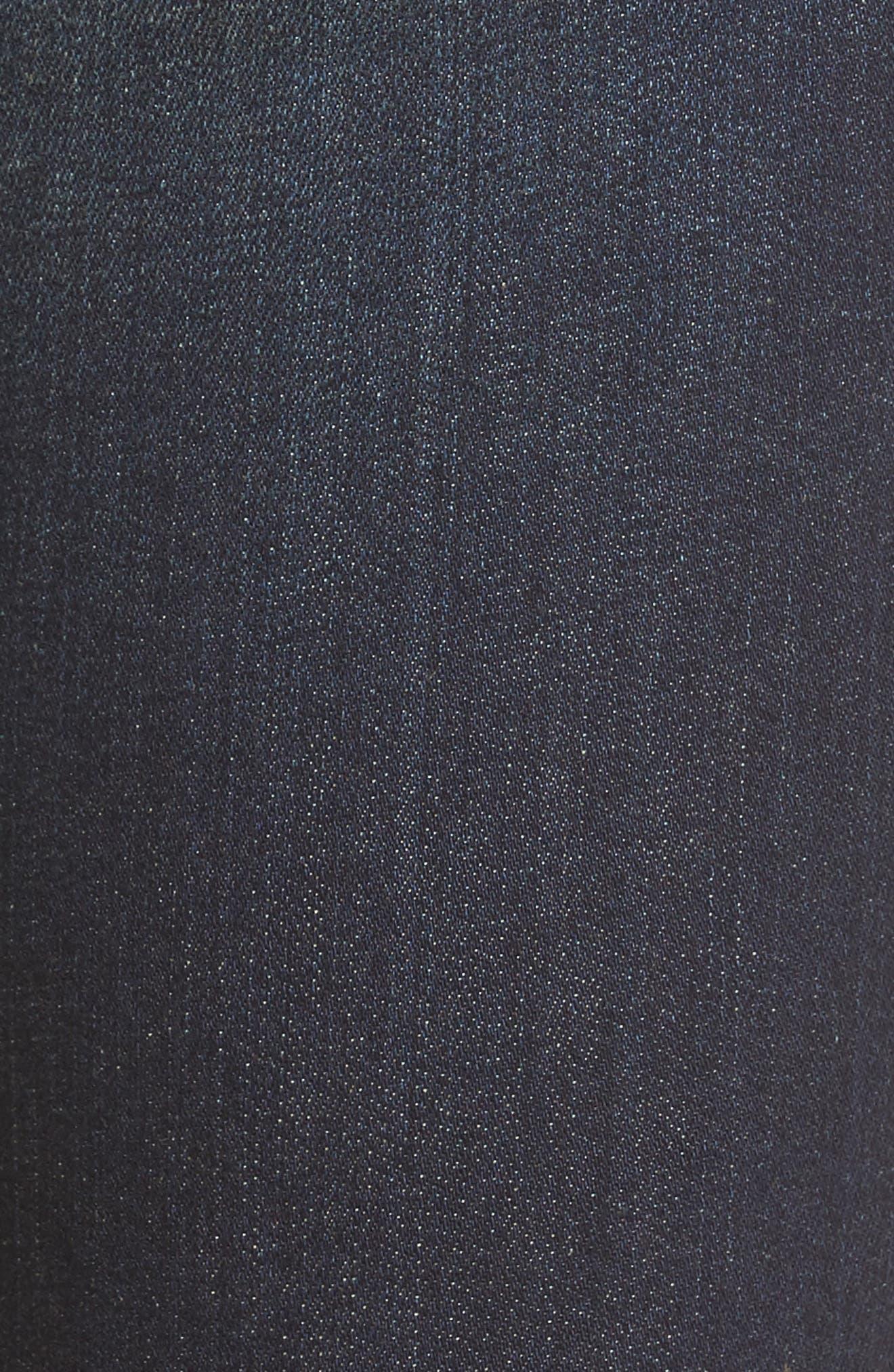 Kurvy Ankle Skinny Jeans,                             Alternate thumbnail 5, color,