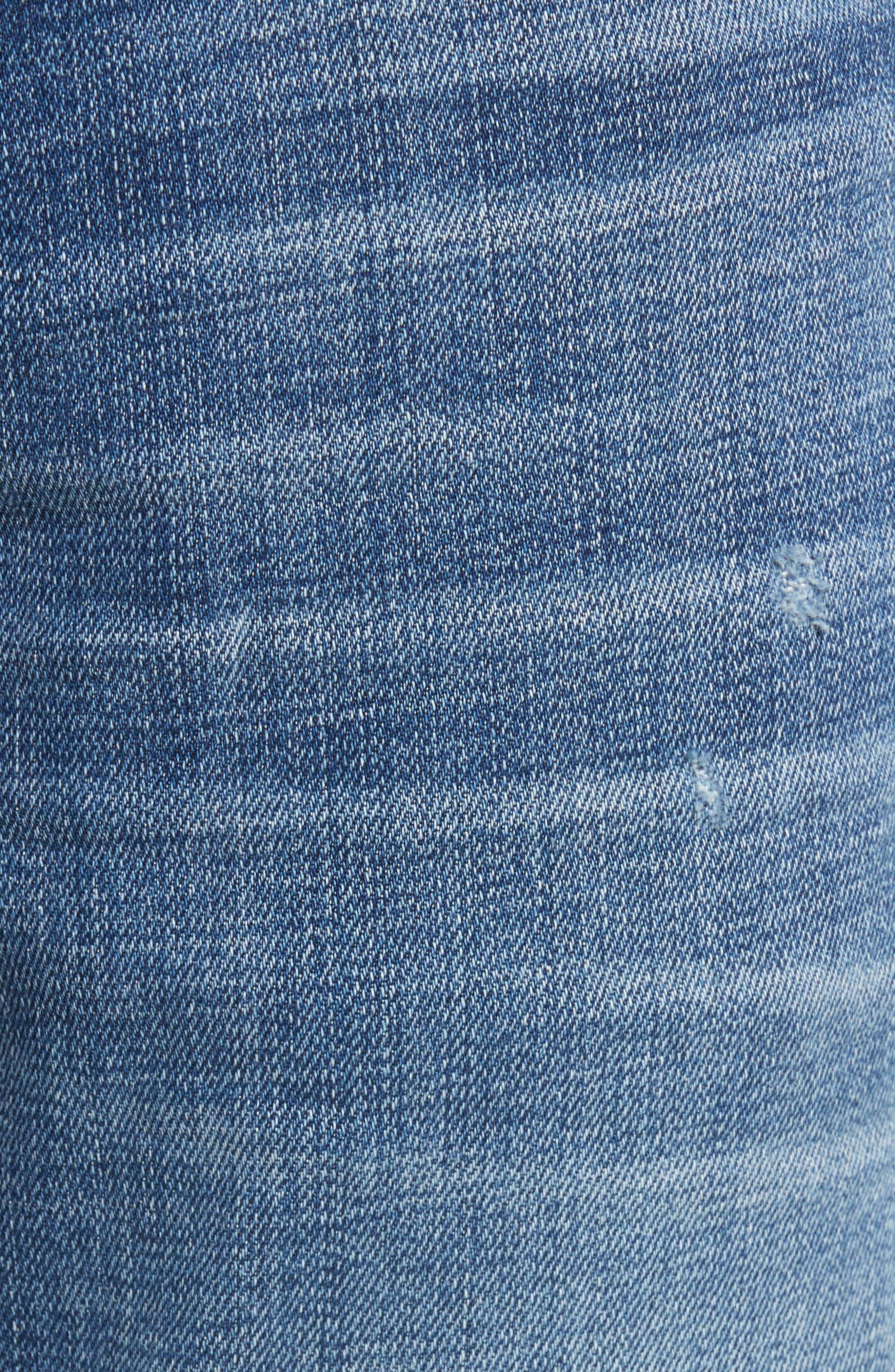 Blake Slim Fit Jeans,                             Alternate thumbnail 5, color,                             453