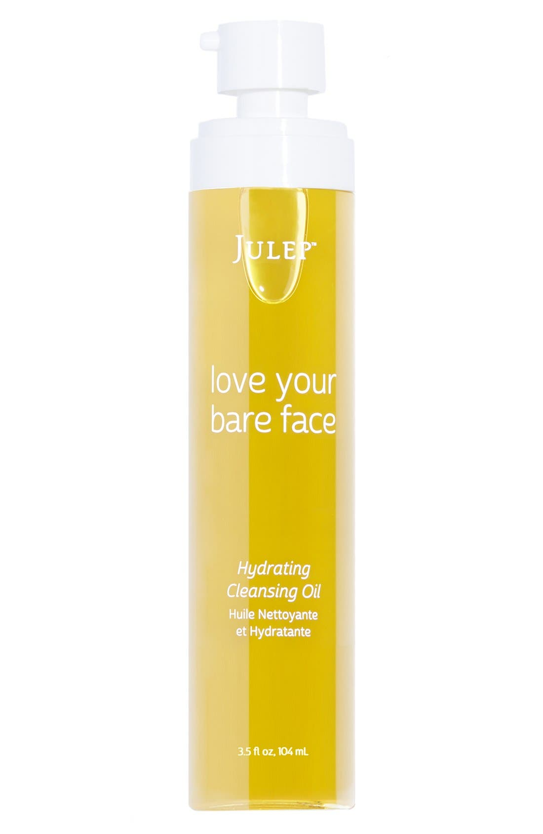 Julep<sup>™</sup> love your bare face Hydrating Cleansing Oil,                         Main,                         color, NO COLOR