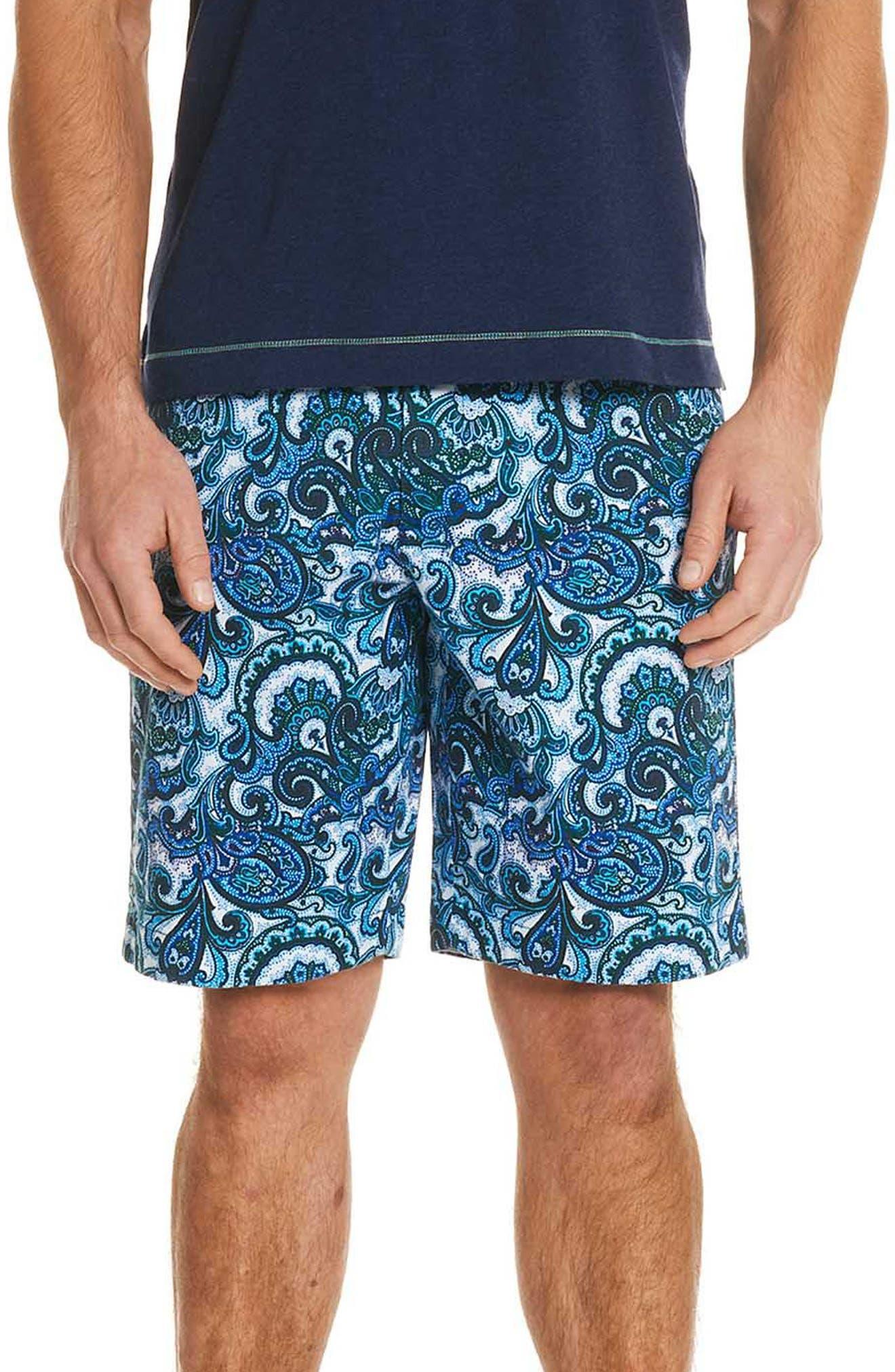 Baracoa Classic Fit Shorts,                         Main,                         color, BLUE