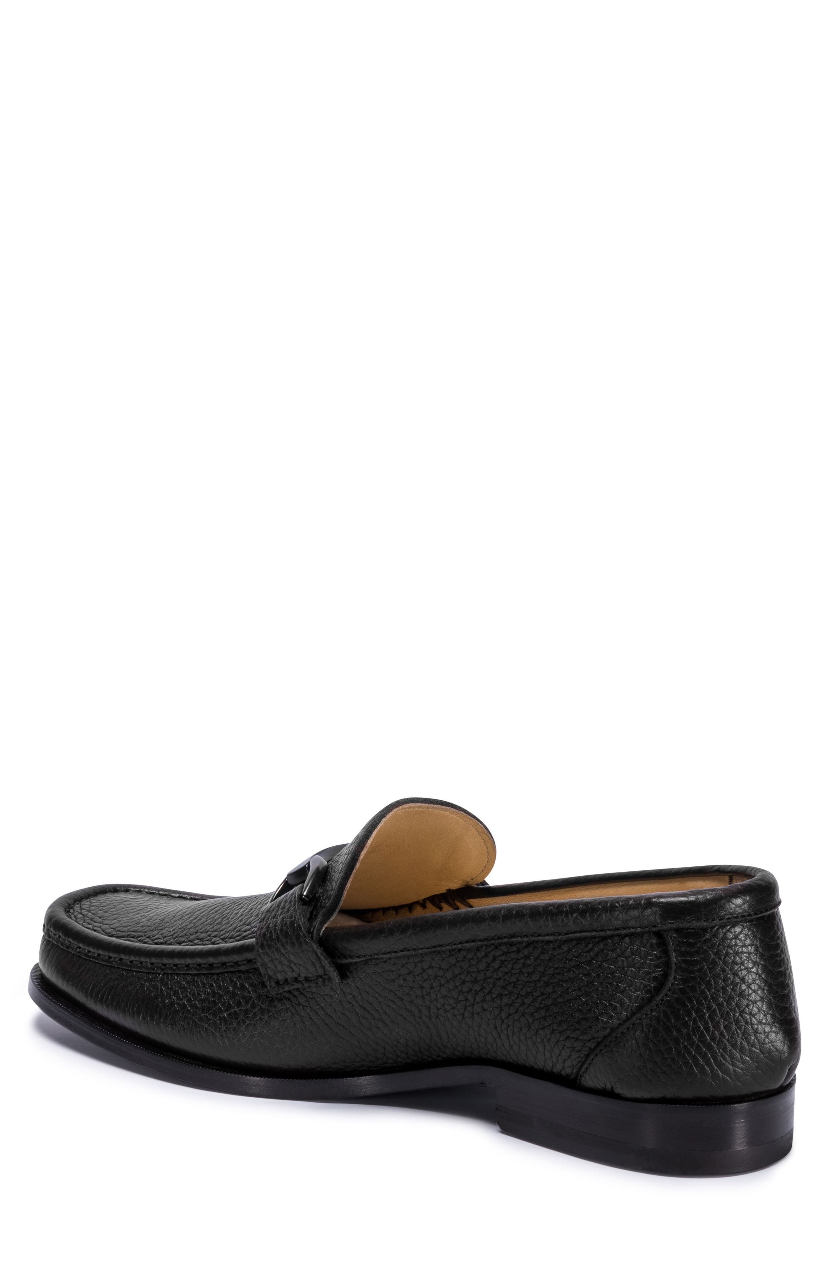 Padua Bit Loafer,                             Alternate thumbnail 2, color,                             NERO LEATHER