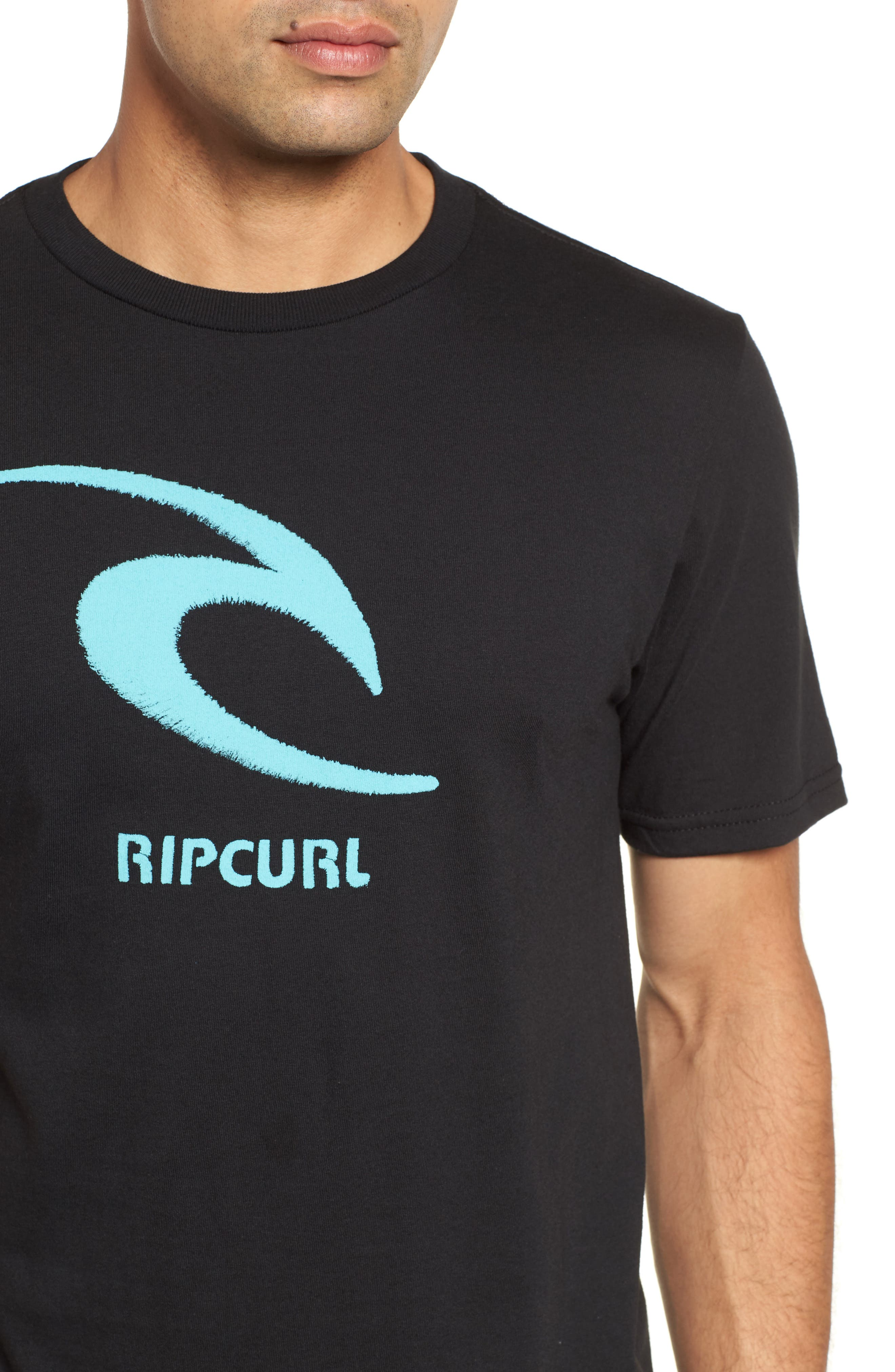 Threaded Classic T-Shirt,                             Alternate thumbnail 4, color,                             001