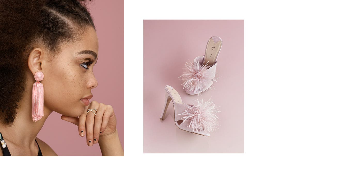 Prom heels and accessories under $100.