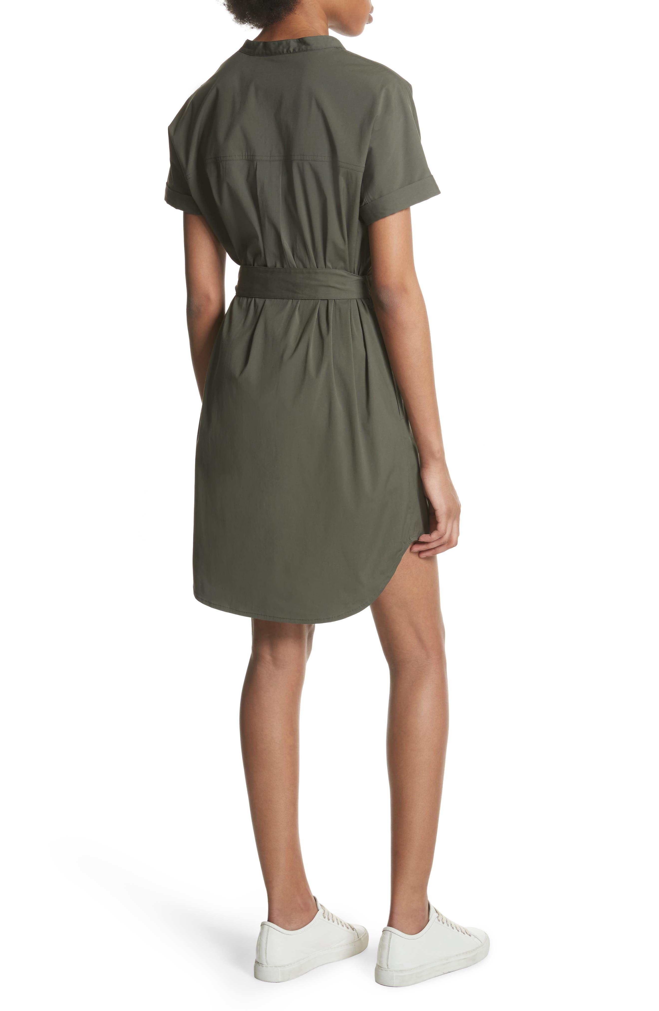 Stretch Cotton Cargo Dress,                             Alternate thumbnail 2, color,                             300