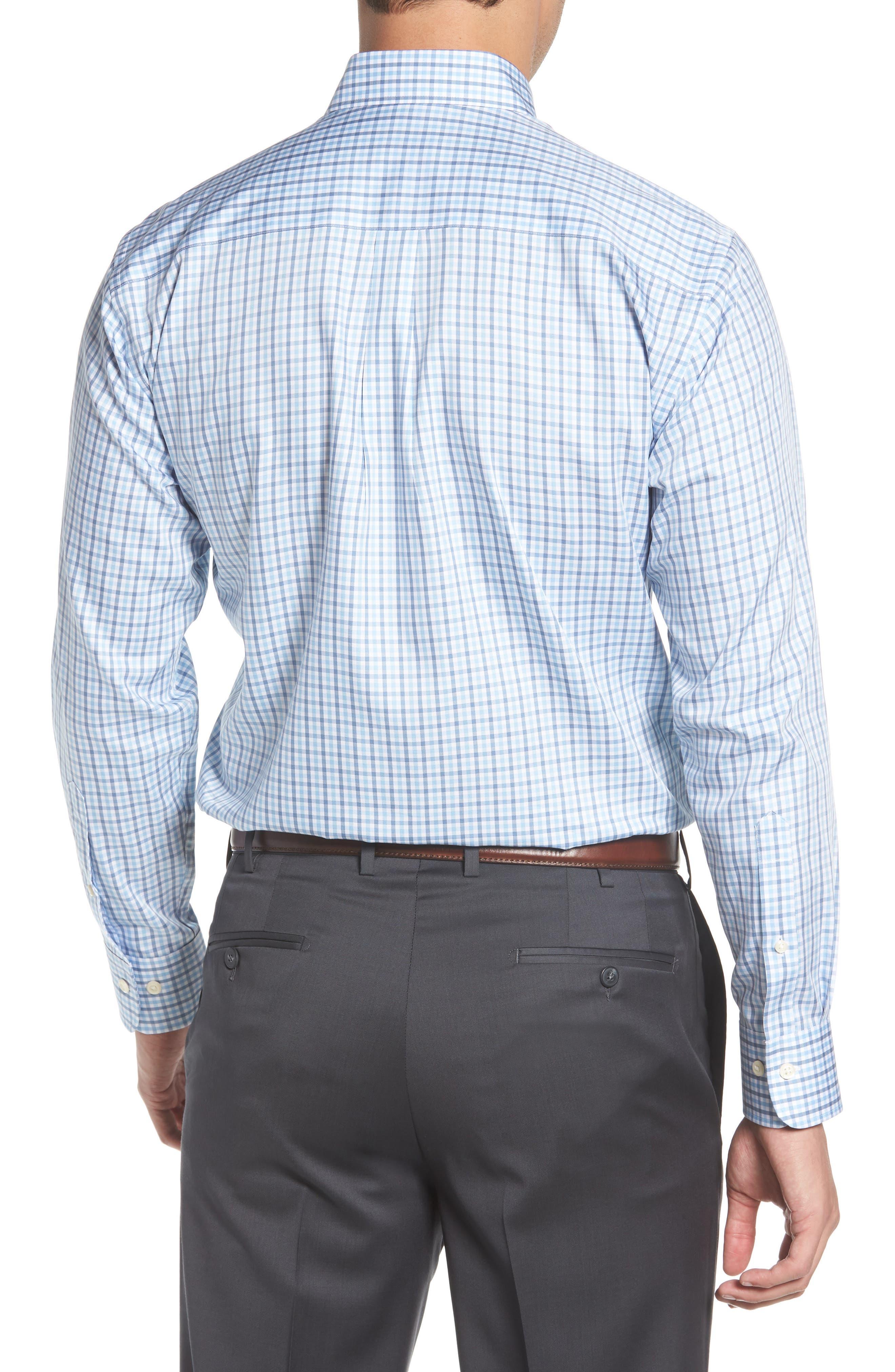 Lake City Regular Fit Tattersall Sport Shirt,                             Alternate thumbnail 2, color,                             COTTAGE BLUE