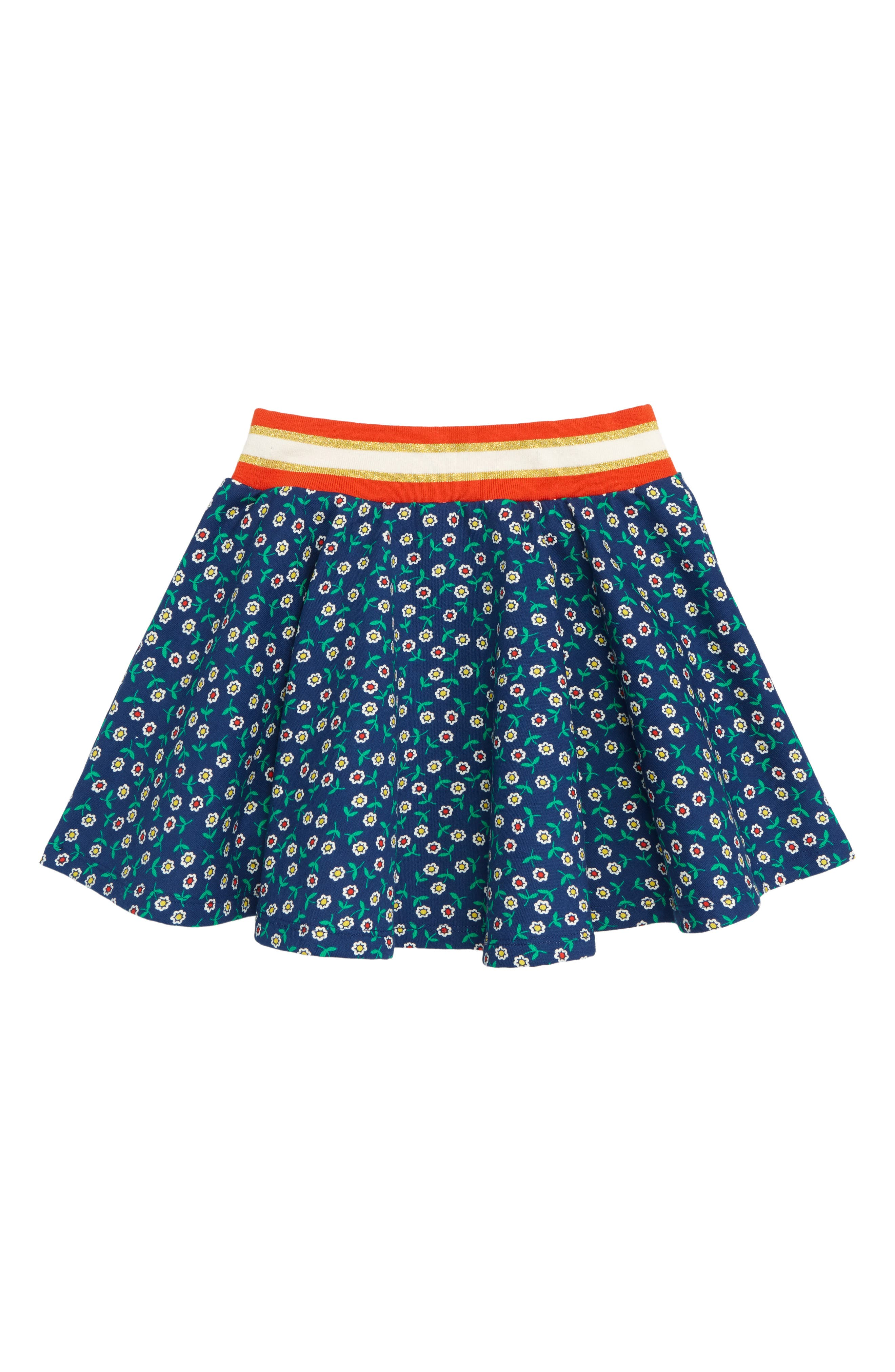 Colorful Skater Skirt,                             Main thumbnail 1, color,                             404