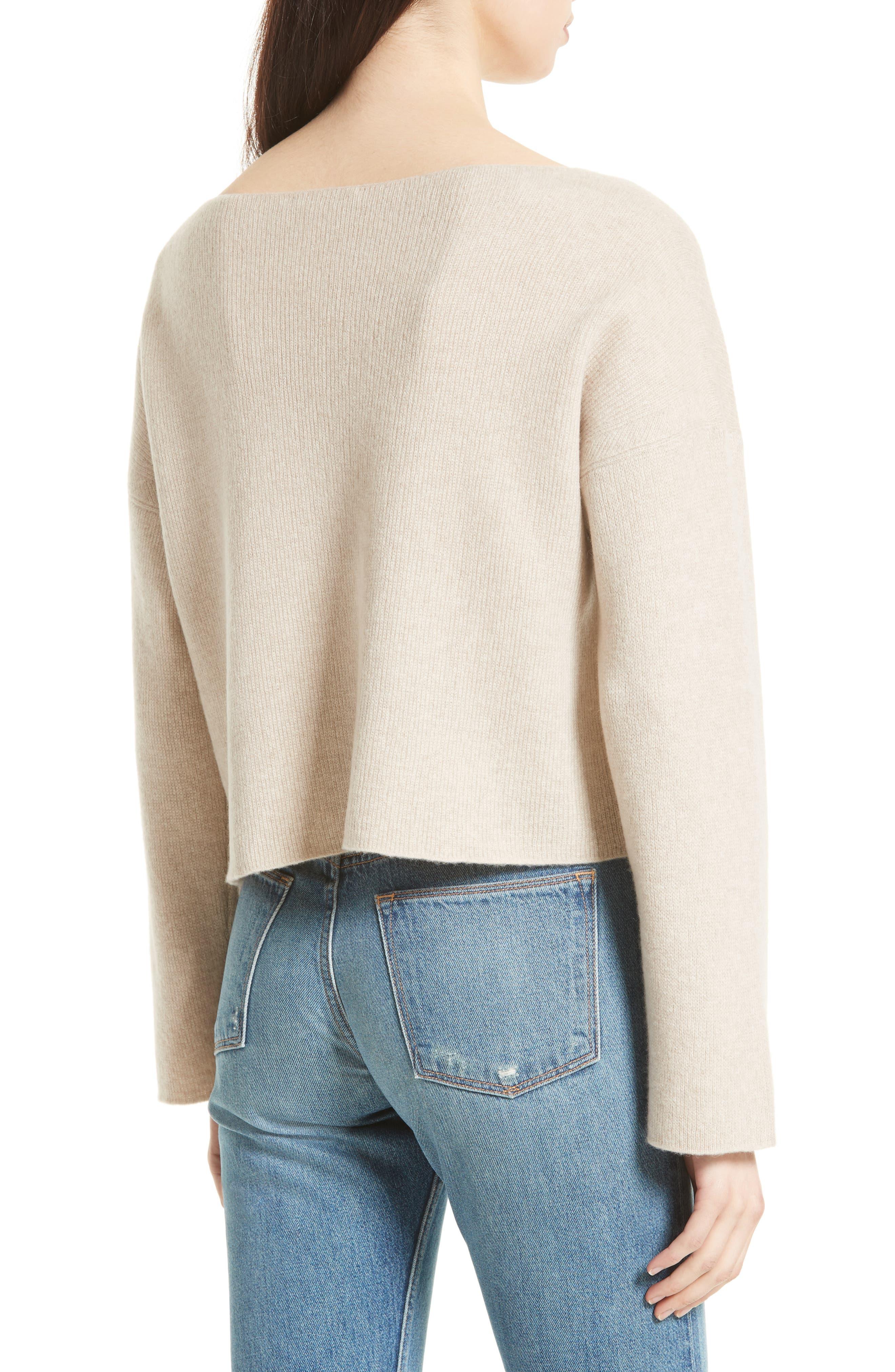 VINCE,                             Boxy Cashmere Sweater,                             Alternate thumbnail 2, color,                             233
