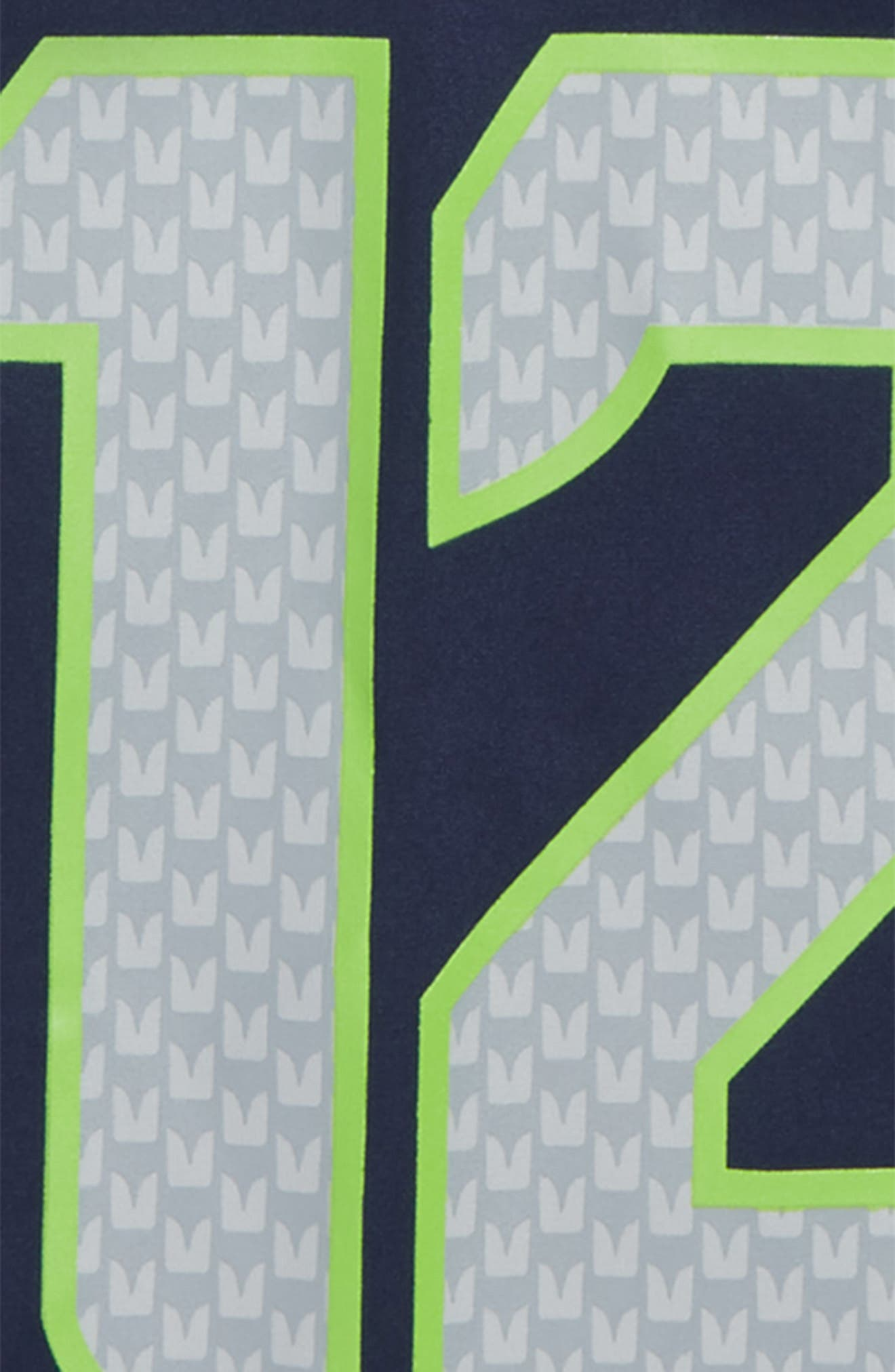 NFL Logo Seattle Seahawks #12 Jersey,                             Alternate thumbnail 3, color,                             NAVY