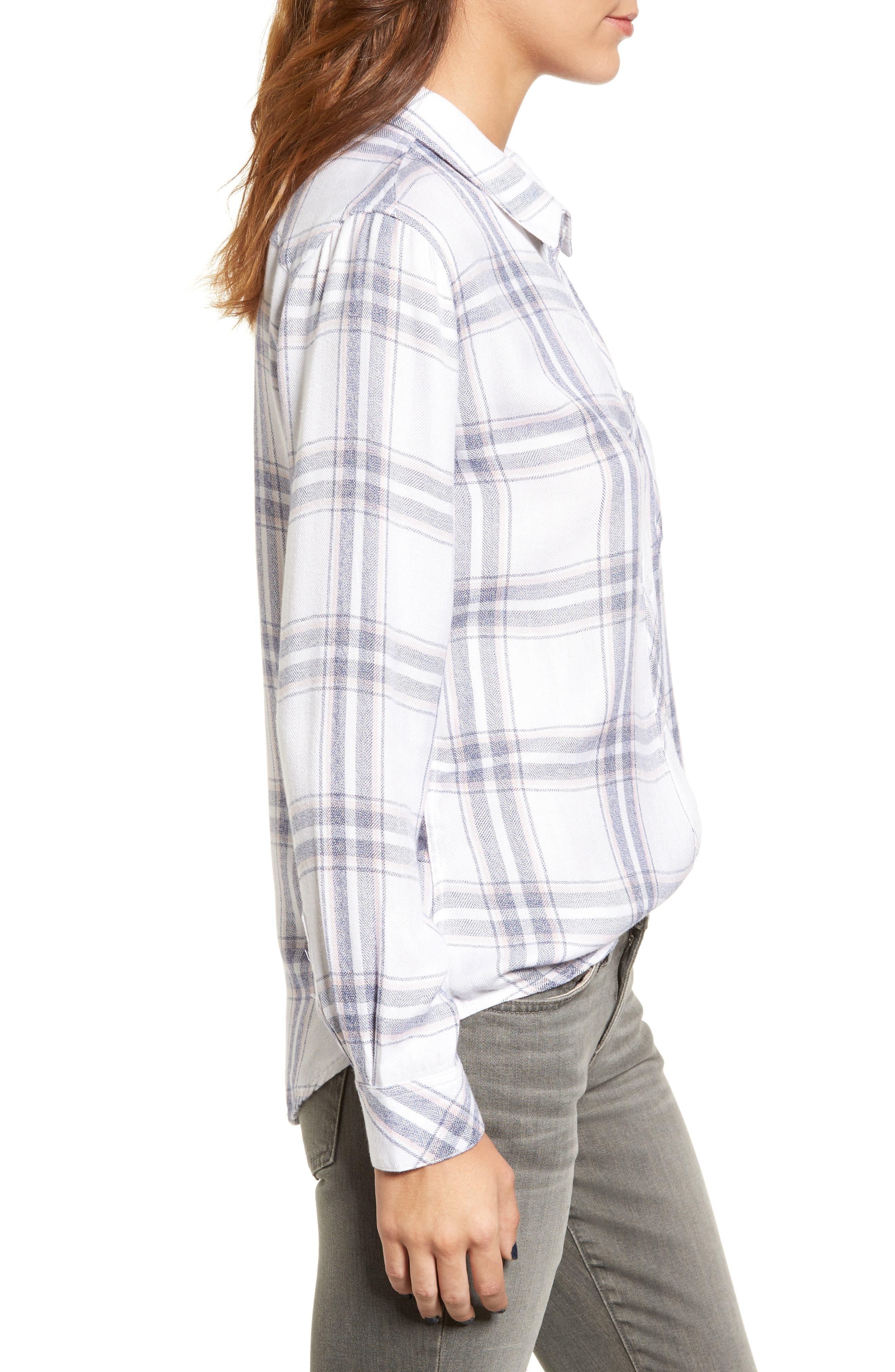 Hunter Plaid Shirt,                             Alternate thumbnail 377, color,