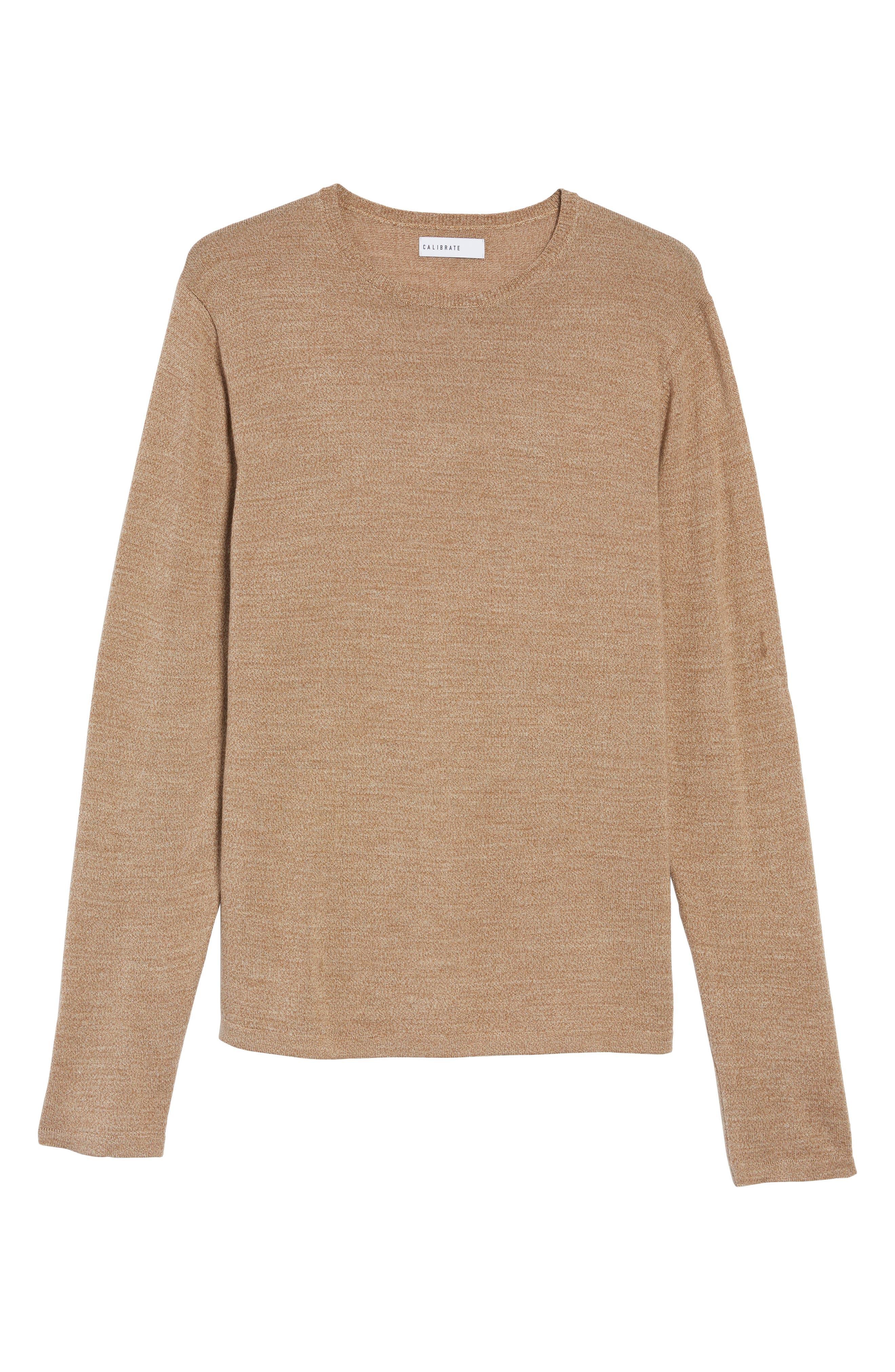 Merino Blend Crewneck Sweater,                             Alternate thumbnail 23, color,