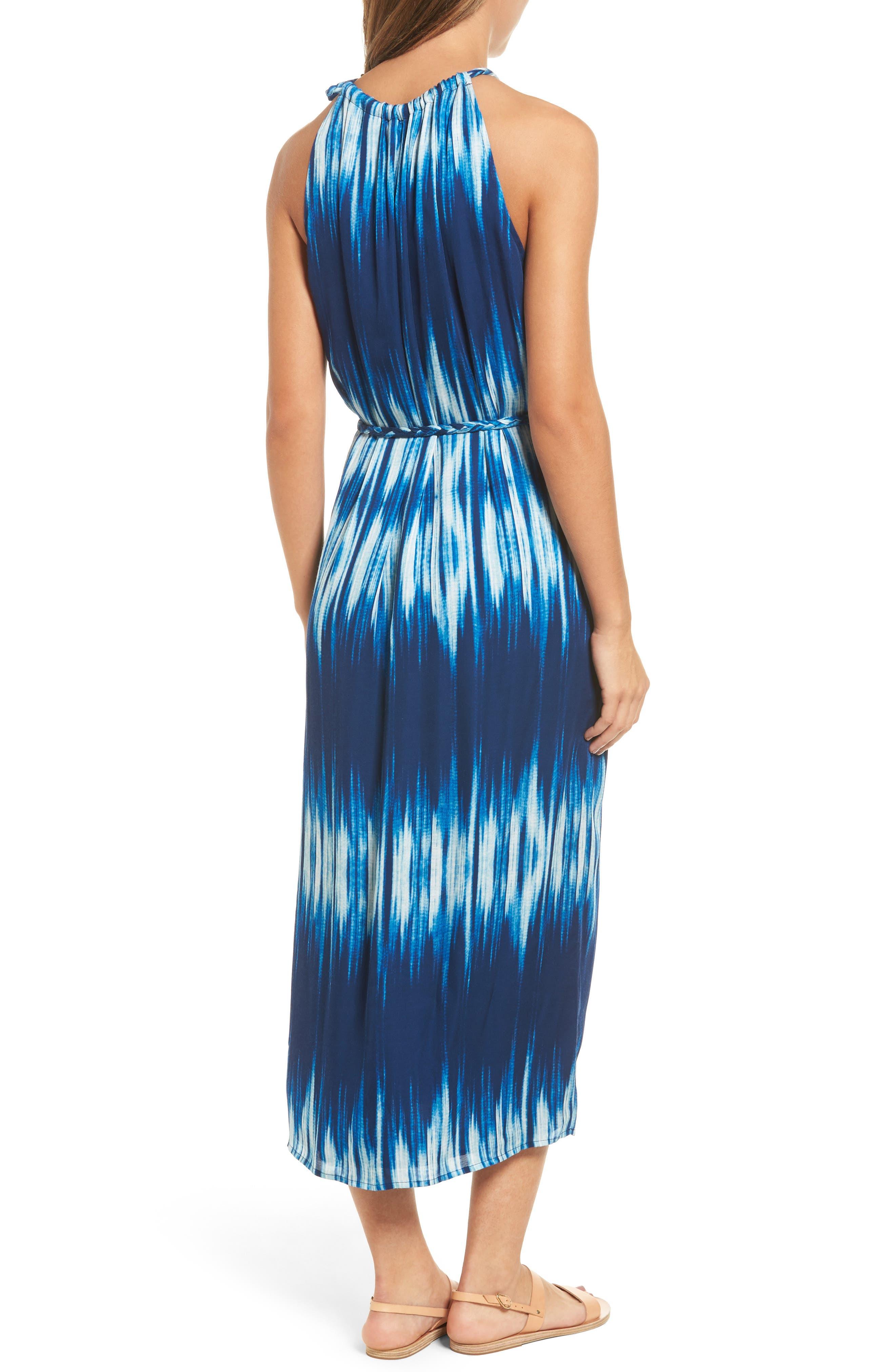Petra Tie Neck Maxi Dress,                             Alternate thumbnail 2, color,                             400