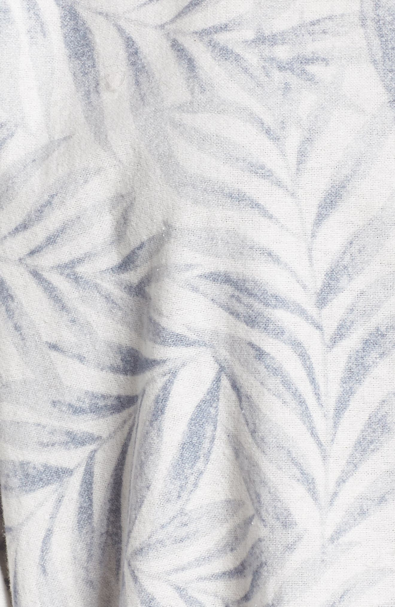 Silver Palms Pajamas,                             Alternate thumbnail 5, color,                             GREY