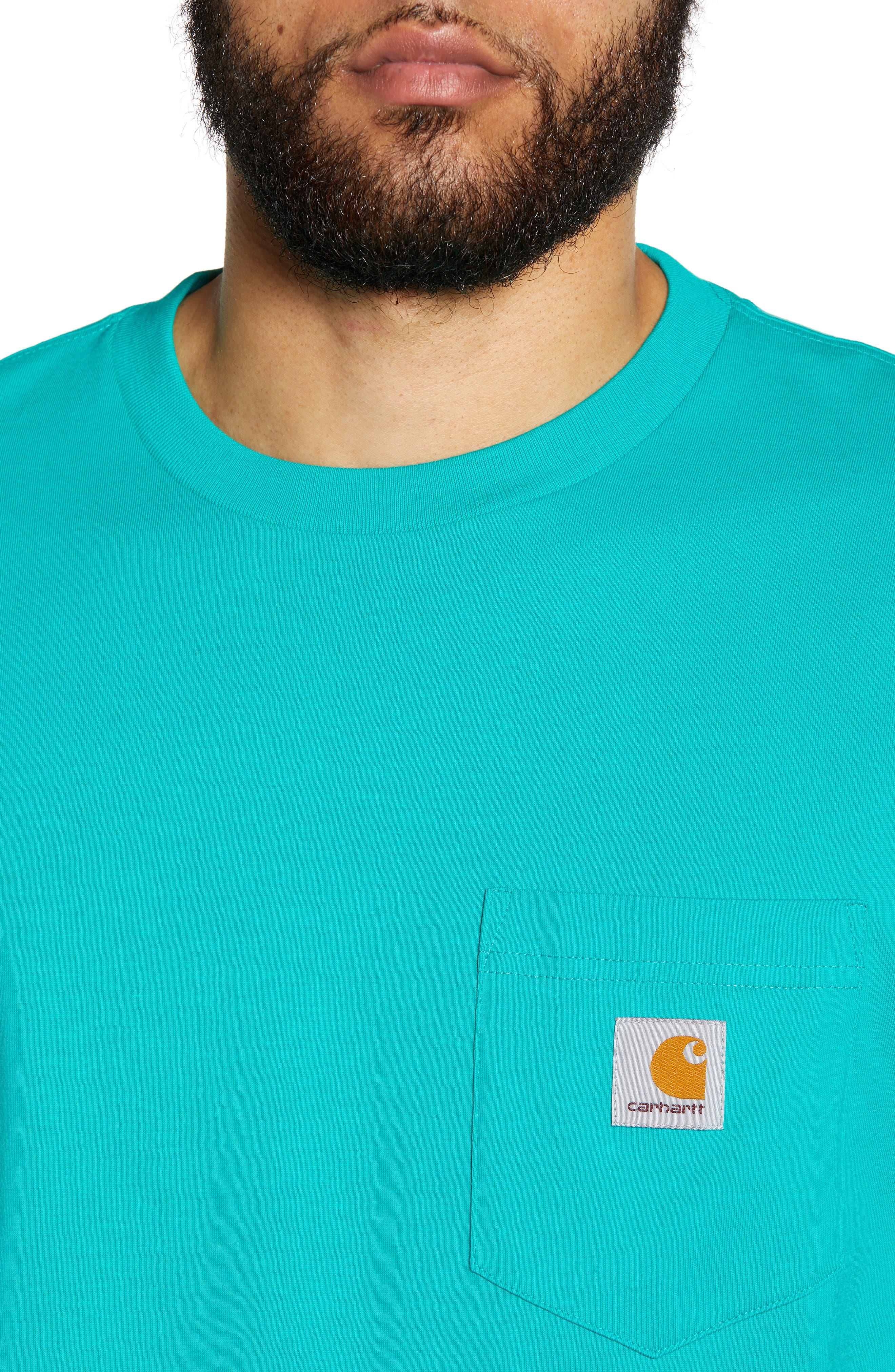 Logo Pocket T-Shirt,                             Alternate thumbnail 4, color,                             CAUMA