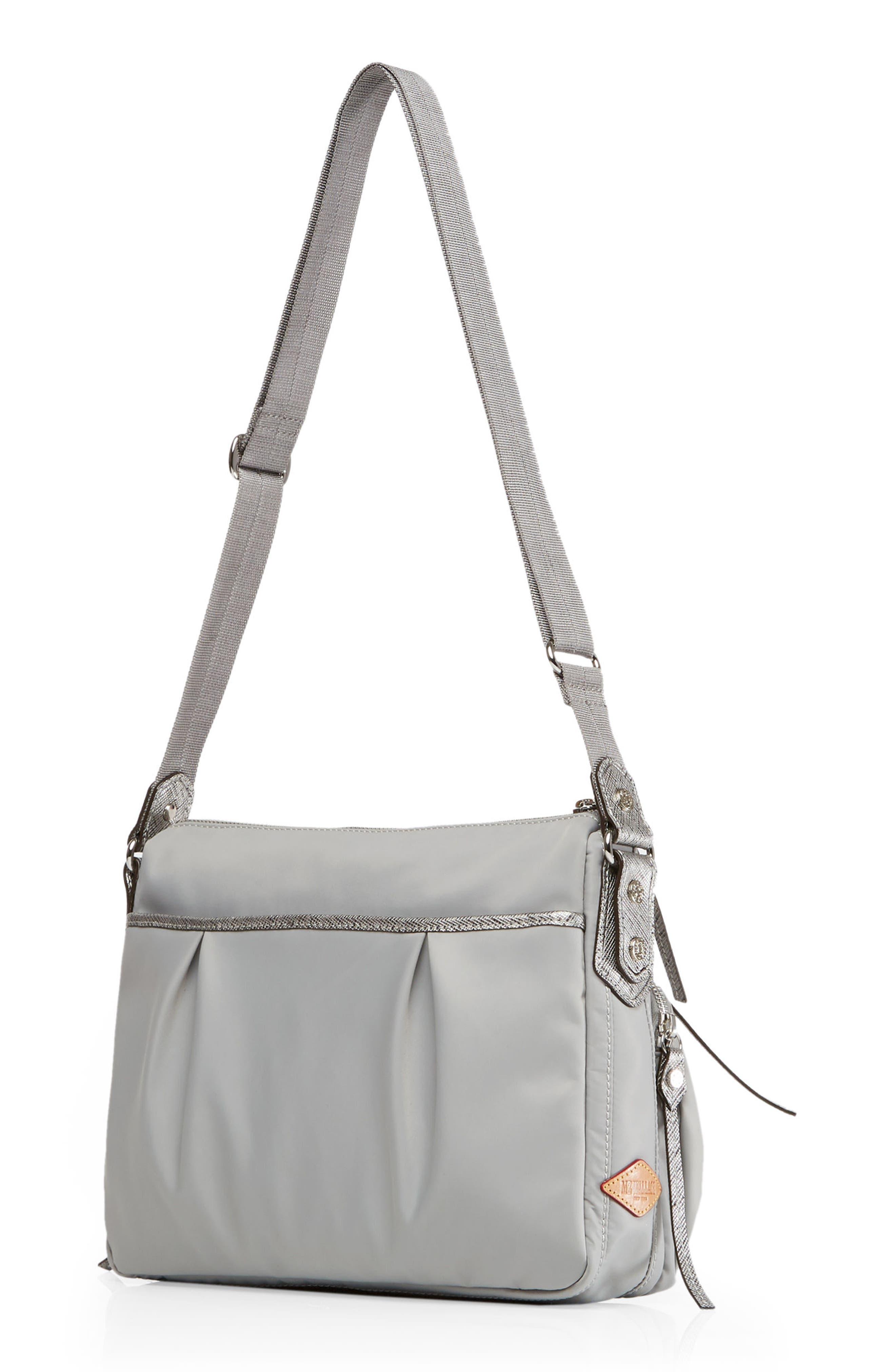 Paige Crossbody Bag,                             Alternate thumbnail 2, color,                             DOVE GREY