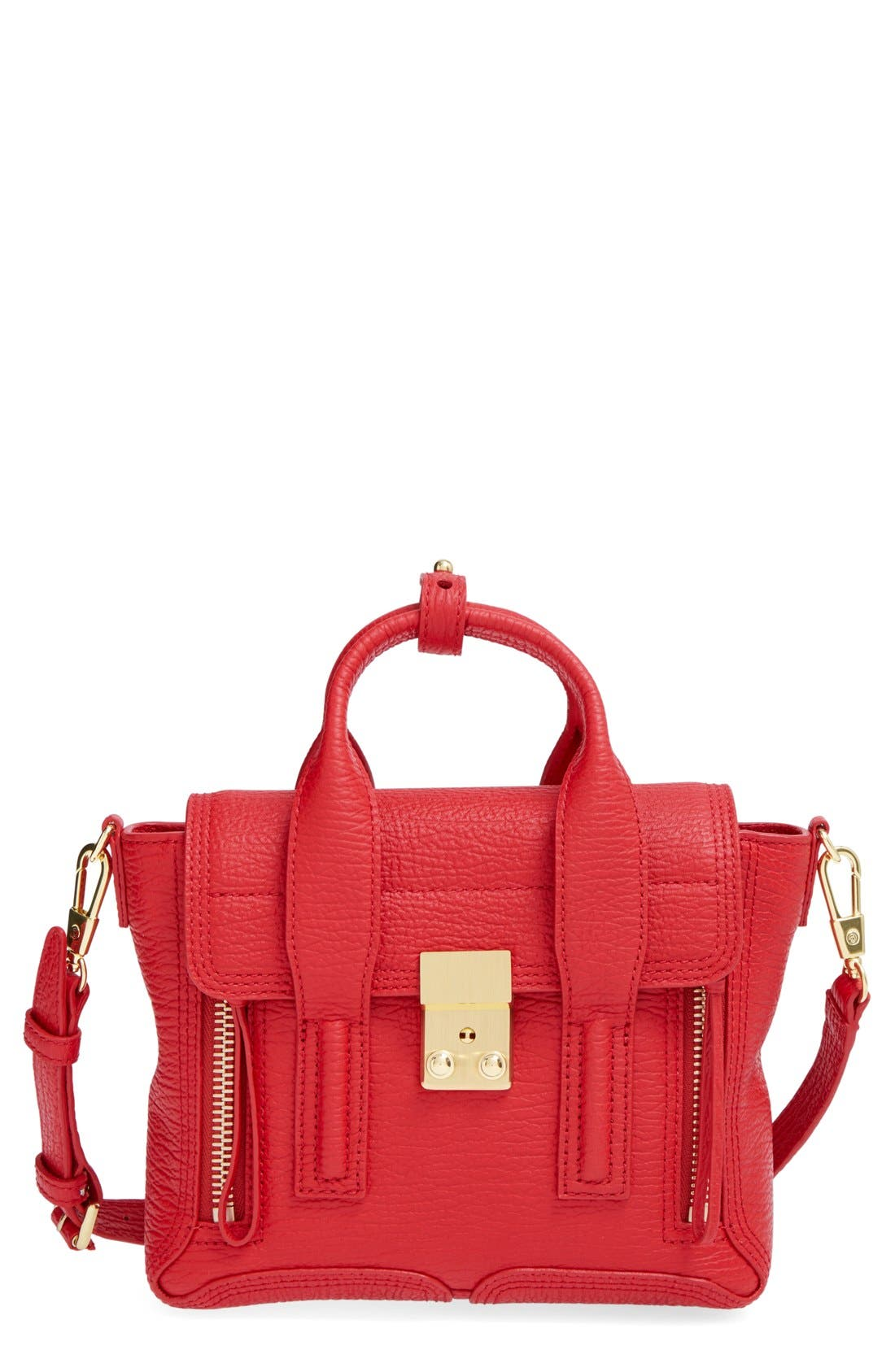 'Mini Pashli' Leather Satchel,                         Main,                         color, 600