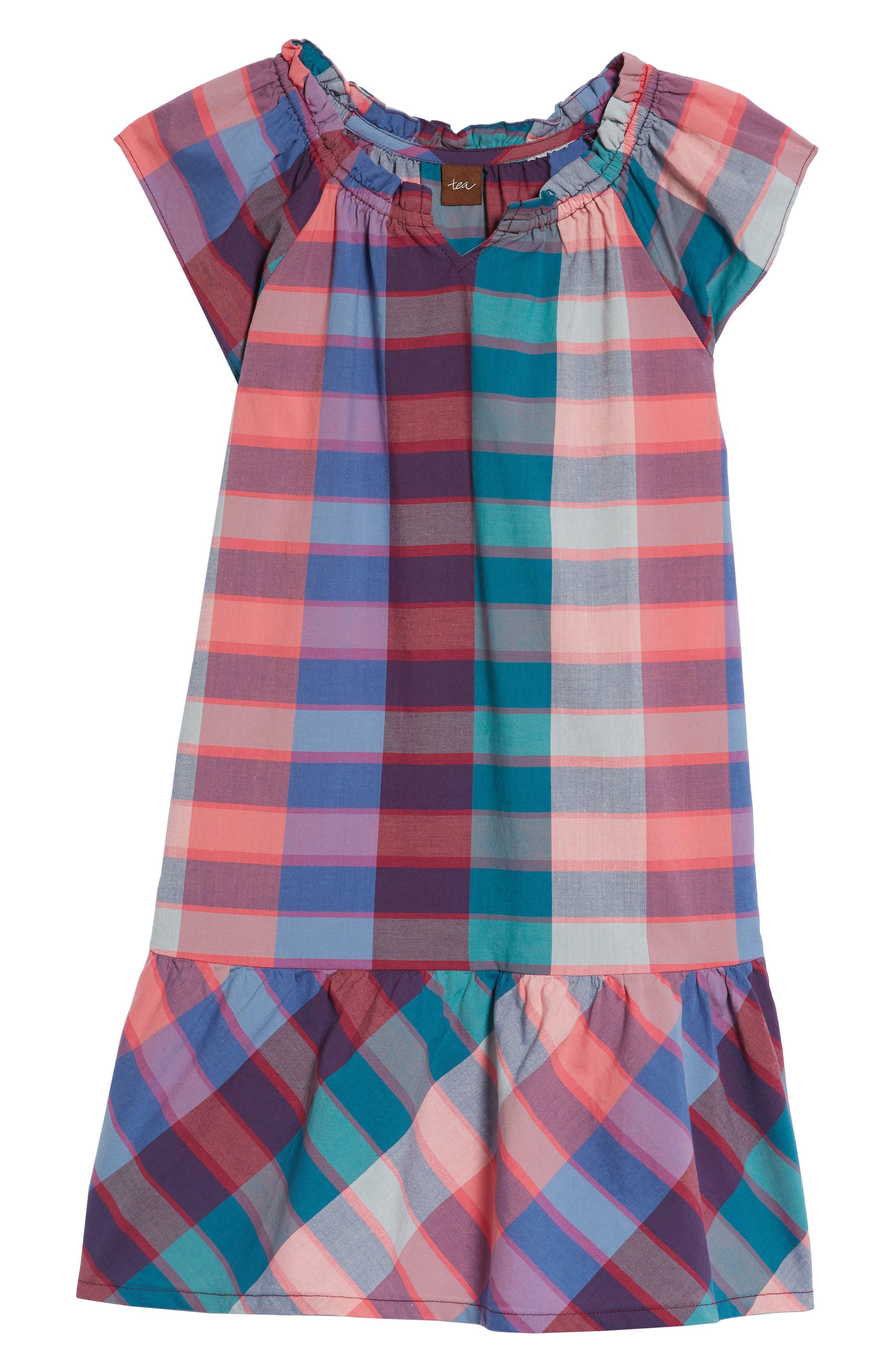 Classic Plaid Dress,                             Main thumbnail 1, color,