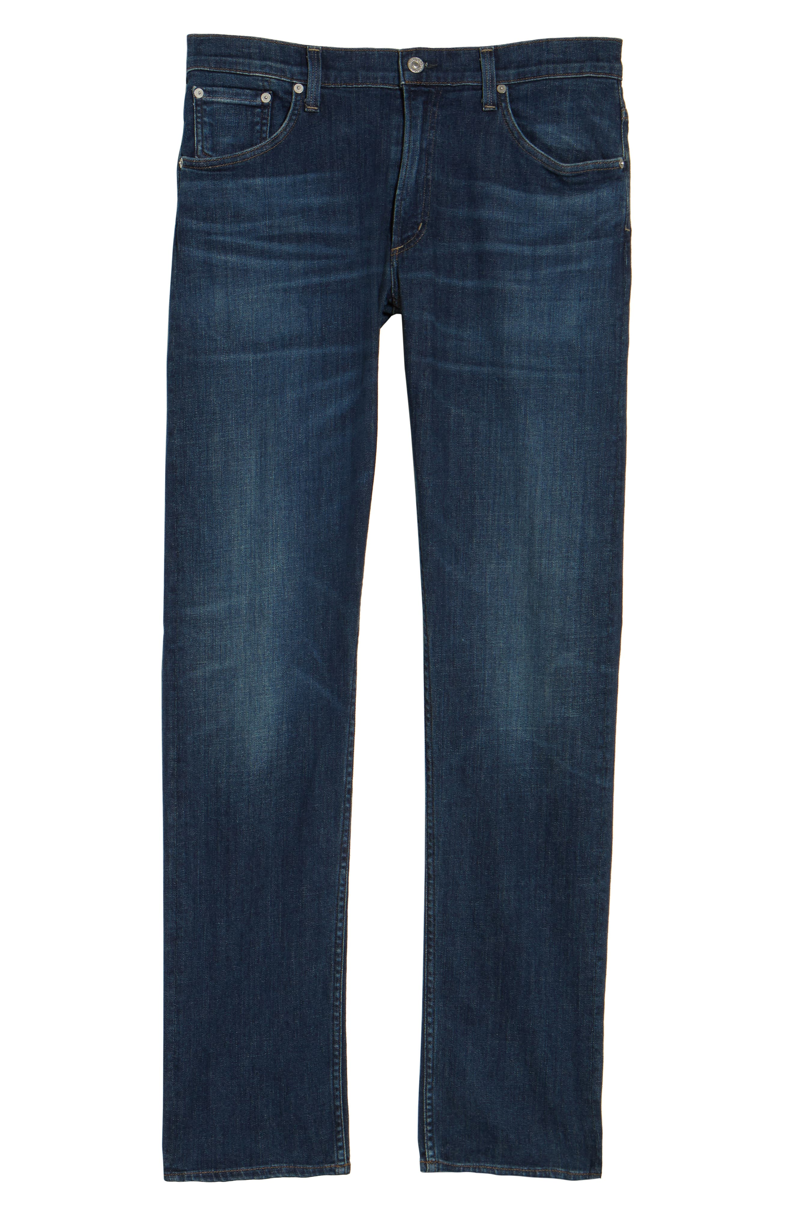 Bowery Slim Fit Jeans,                             Alternate thumbnail 6, color,                             401