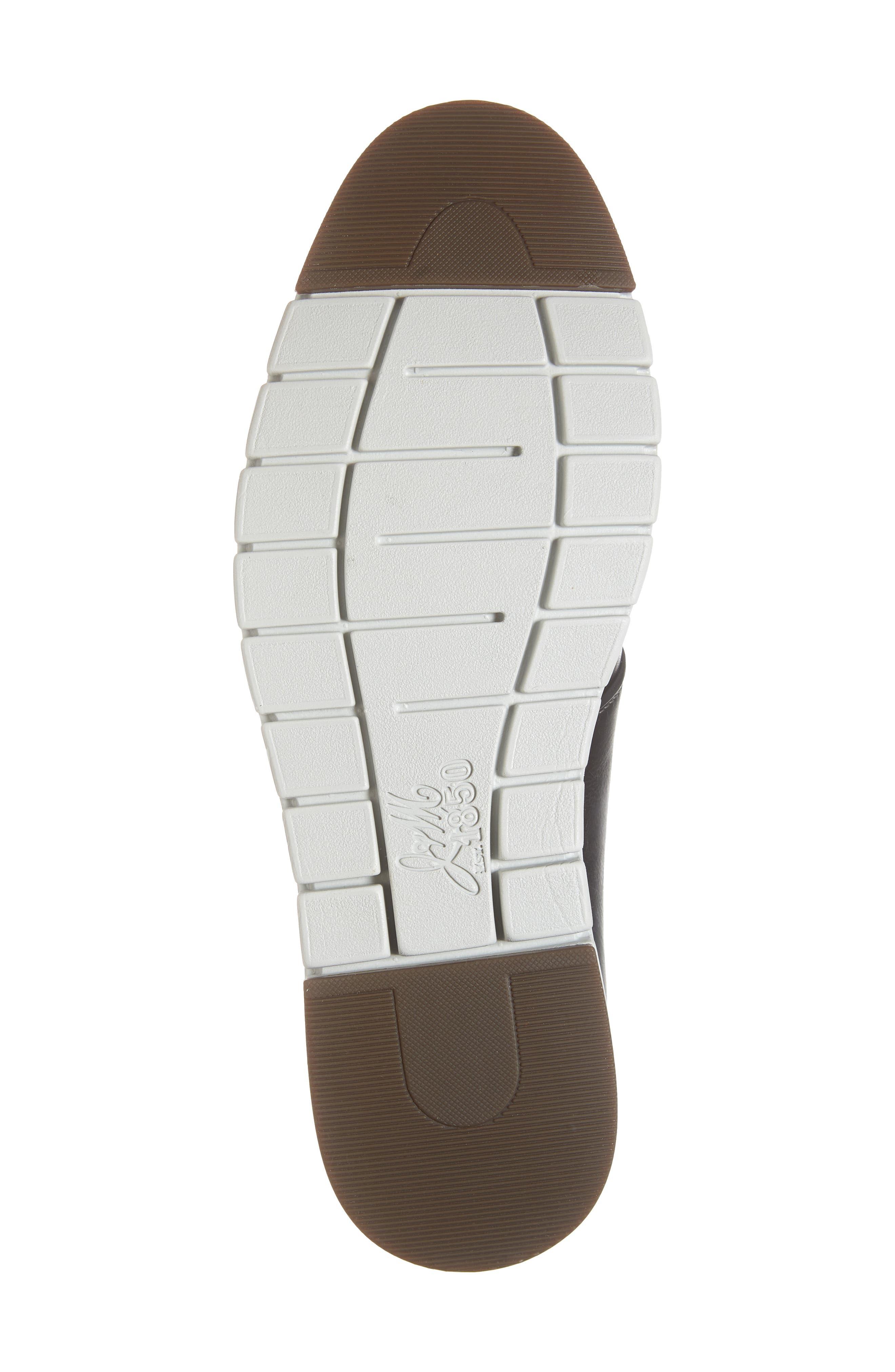 Martell Plain Toe Derby,                             Alternate thumbnail 6, color,                             BLACK LEATHER