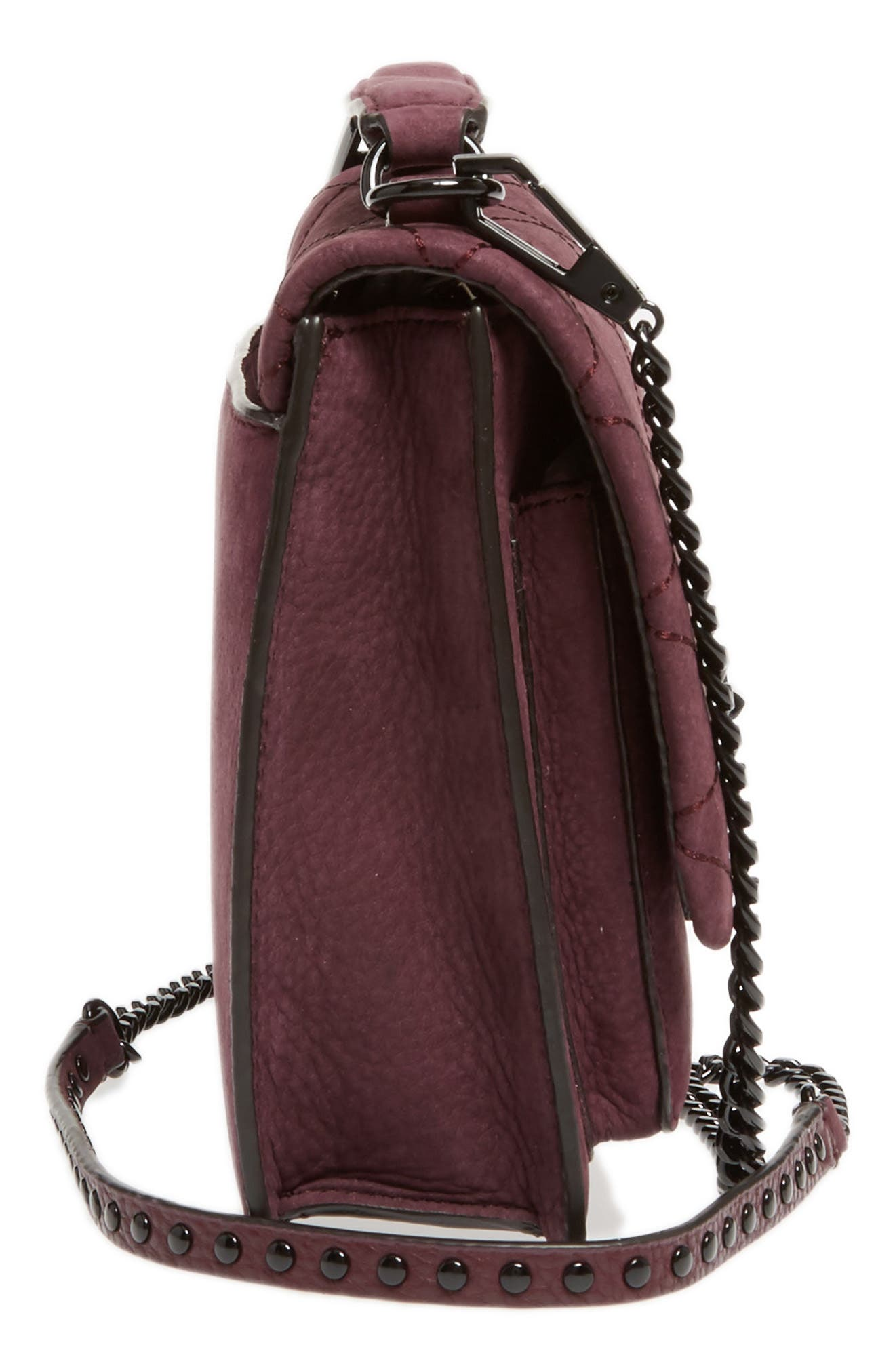 Medium Je T'aime Convertible Leather Crossbody Bag,                             Alternate thumbnail 46, color,