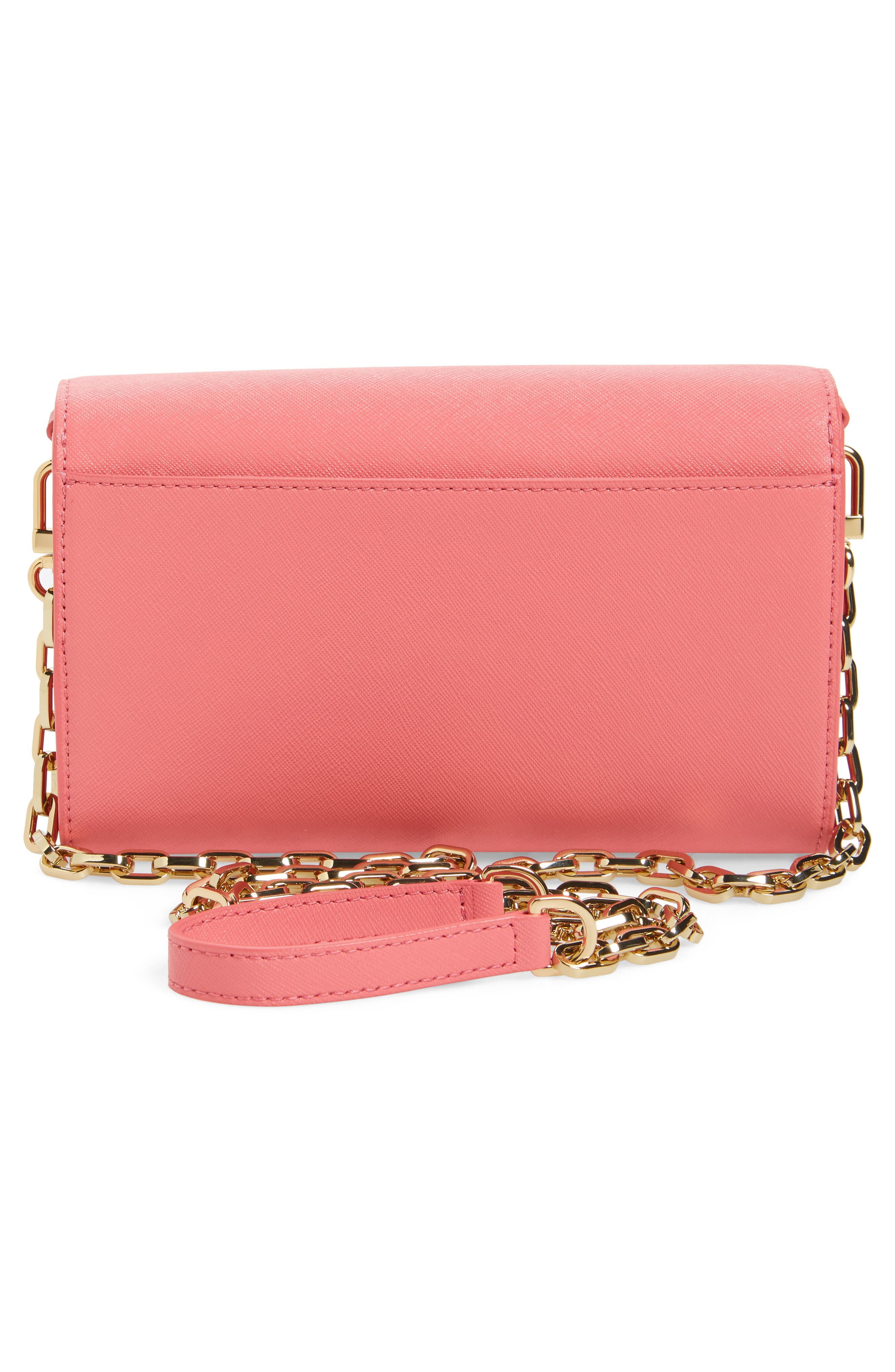 'Robinson' Leather Wallet on a Chain,                             Alternate thumbnail 14, color,