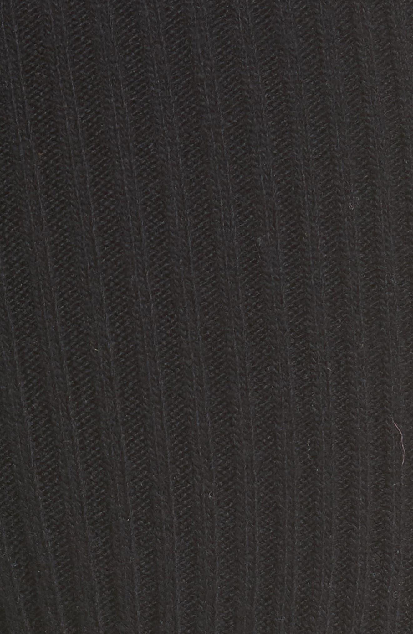 CALVIN KLEIN 205W39NYC,                             Side Stripe Stretch Wool Stirrup Leggings,                             Alternate thumbnail 5, color,                             001