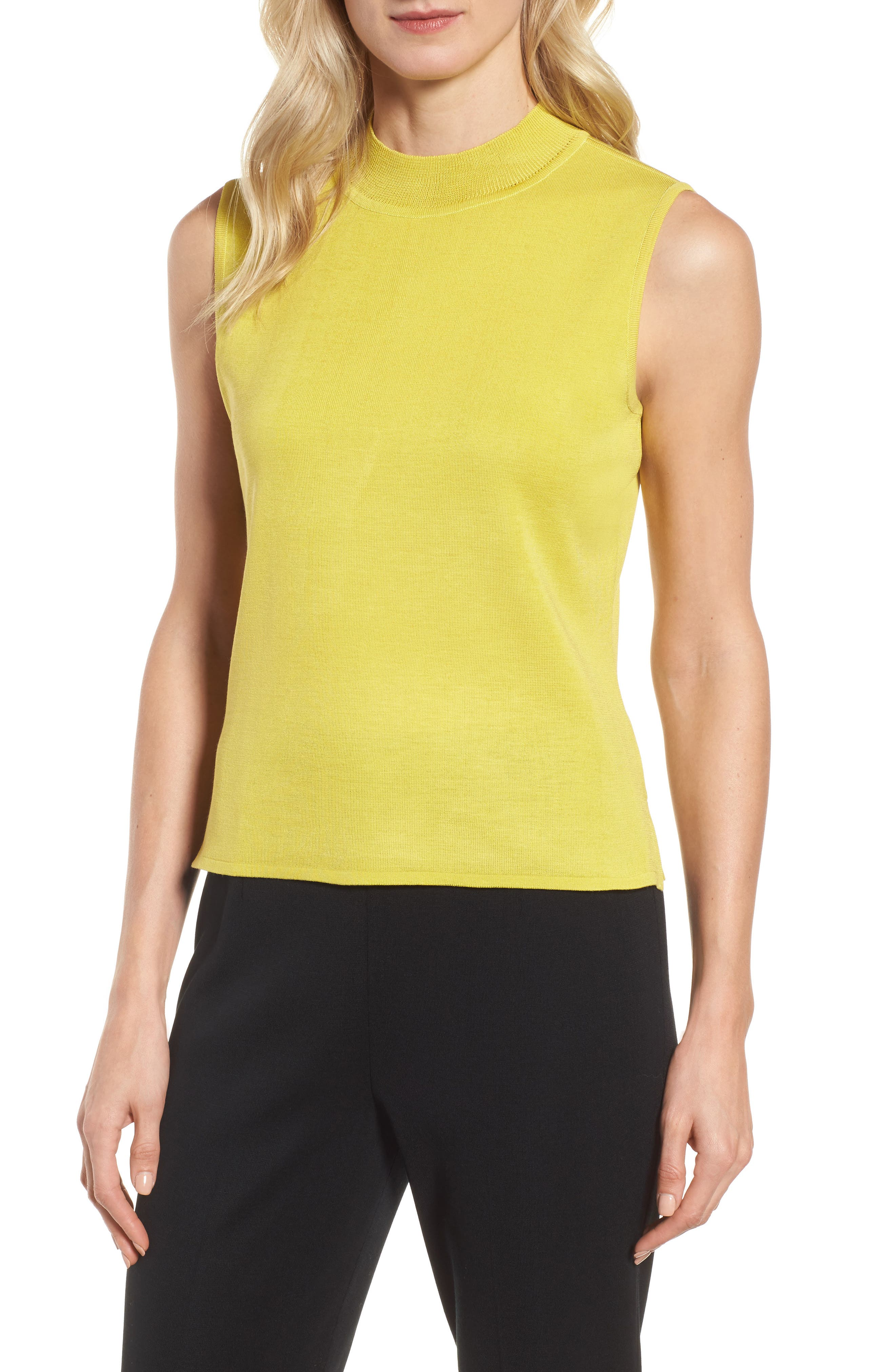 Mock Neck Knit Tank,                             Main thumbnail 1, color,                             720